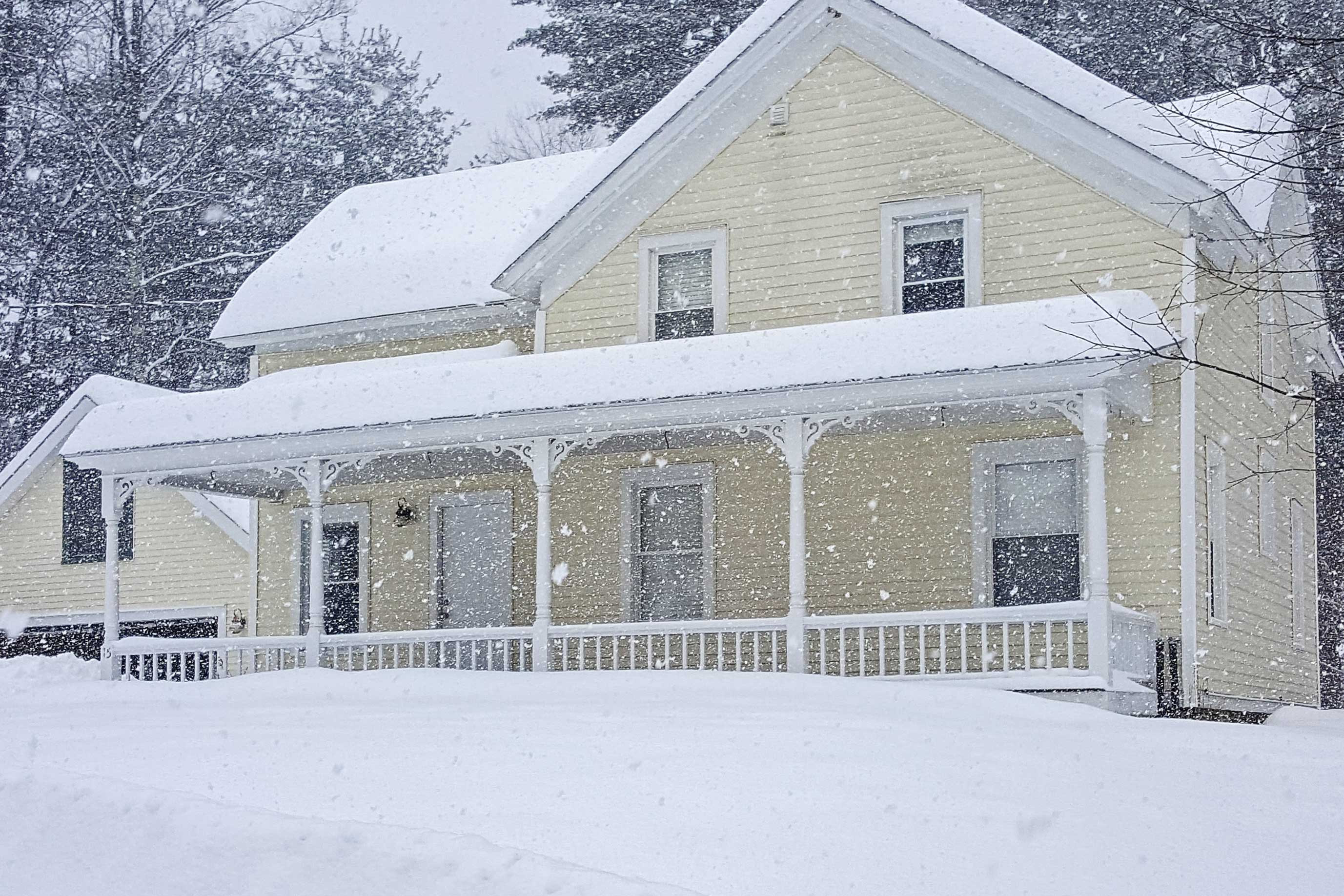 Upstate New York transforms into a picturesque snowglobe come wintertime!