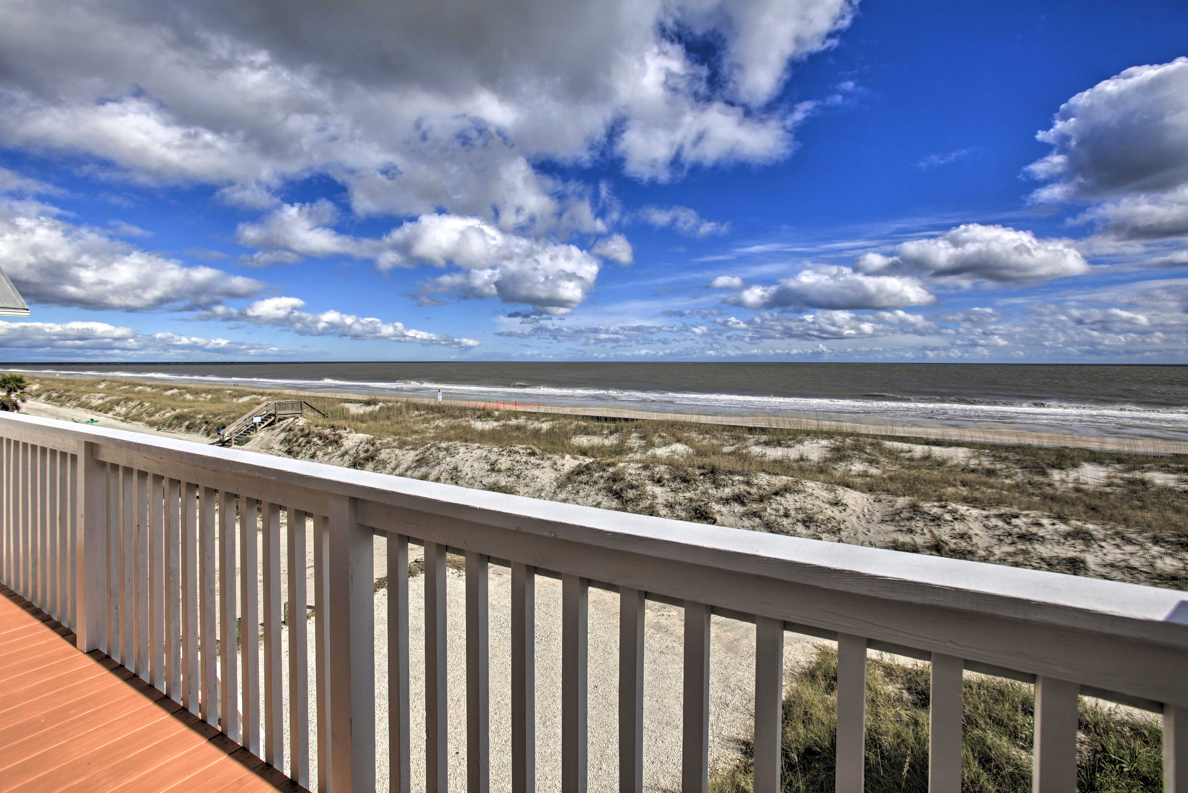 You'll be a short walk from the beach!
