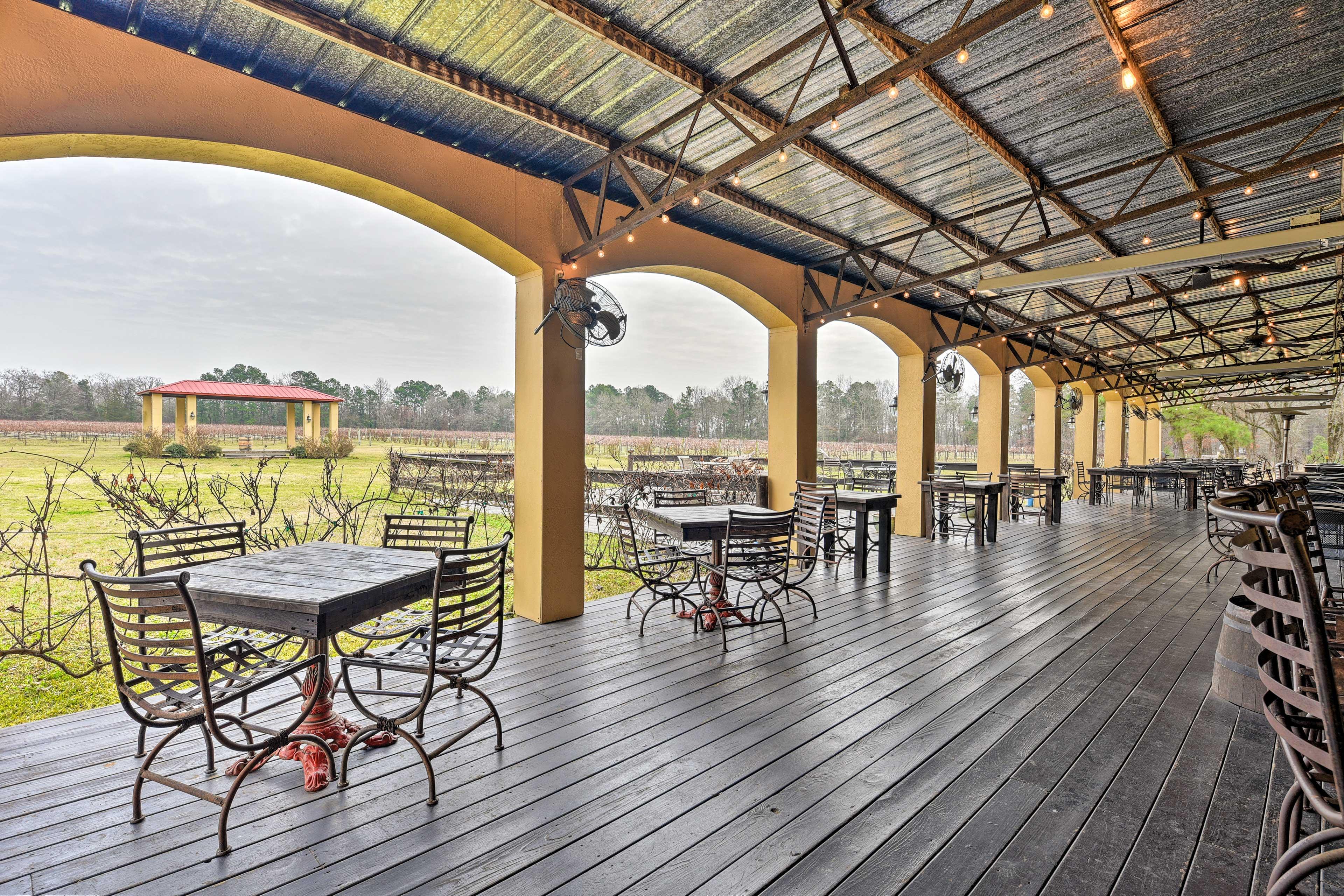 Los Pinos Ranch Vineyards Winery