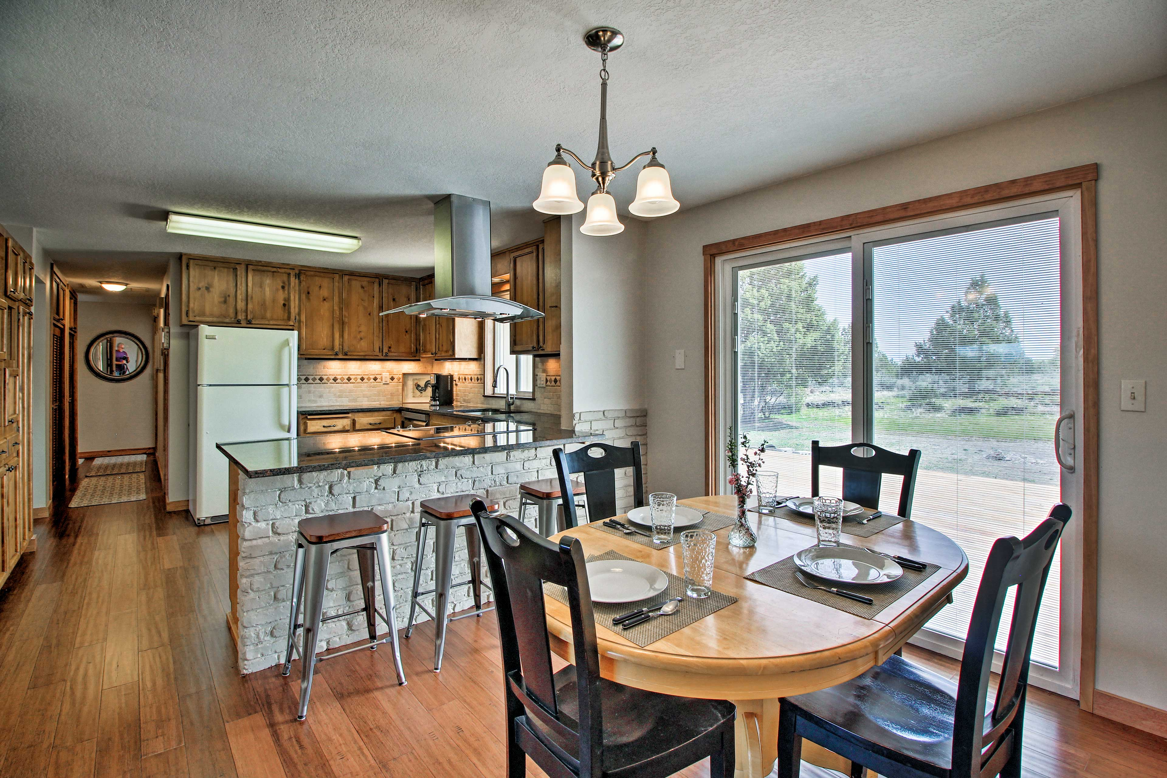 Book your East Bend escape to this private 4-bedroom, 2-bath vacation rental!
