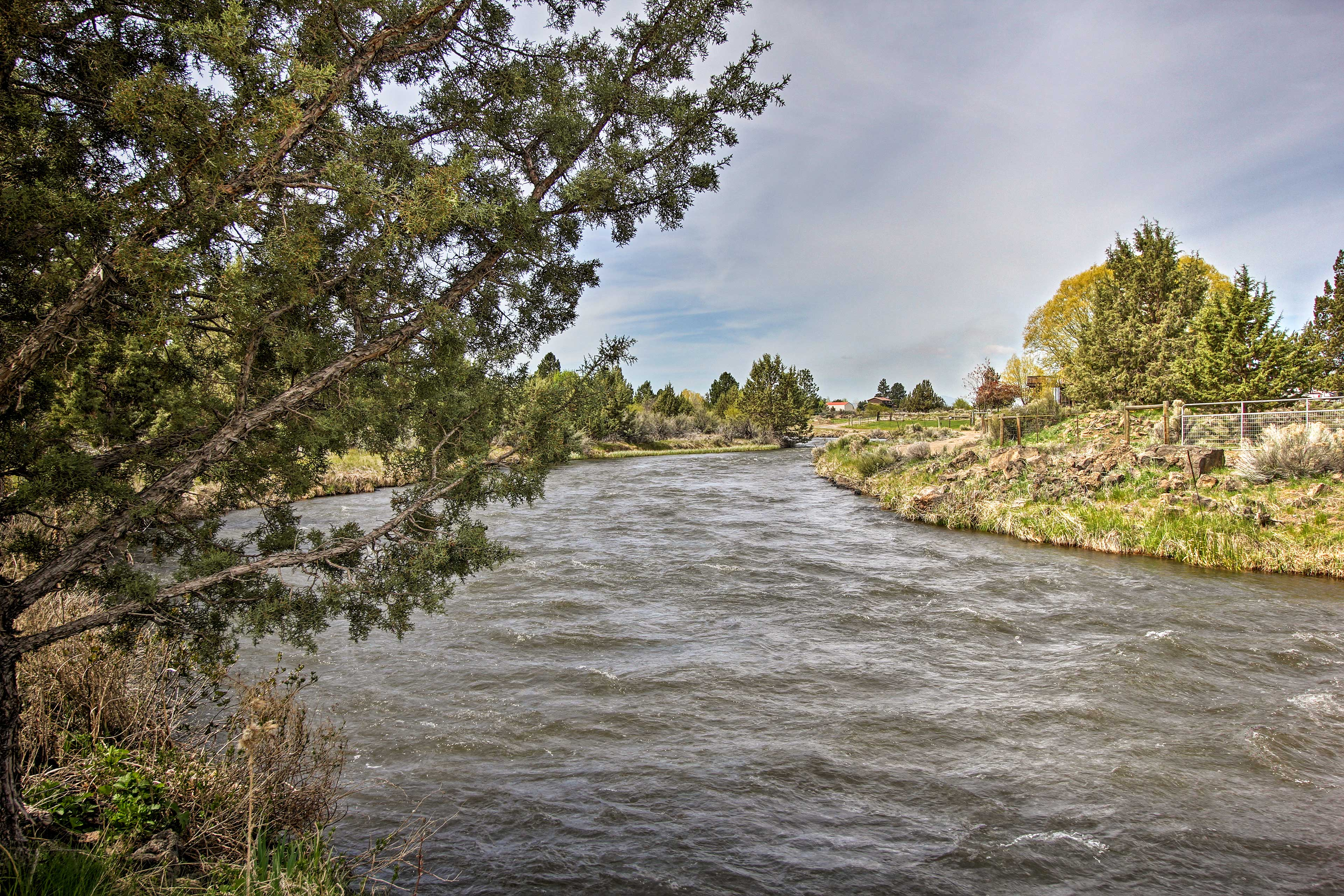 You'll be nestled directly along the peaceful East Bend Canal!