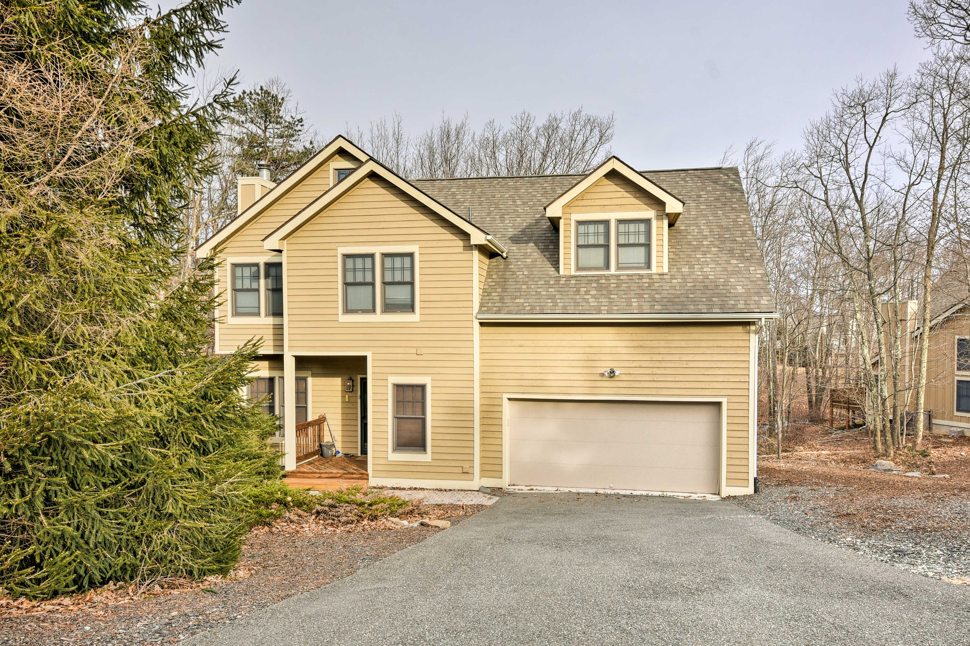 Escape to beautiful Tannersville in this 4-bedroom, 2.5-bath vacation rental!