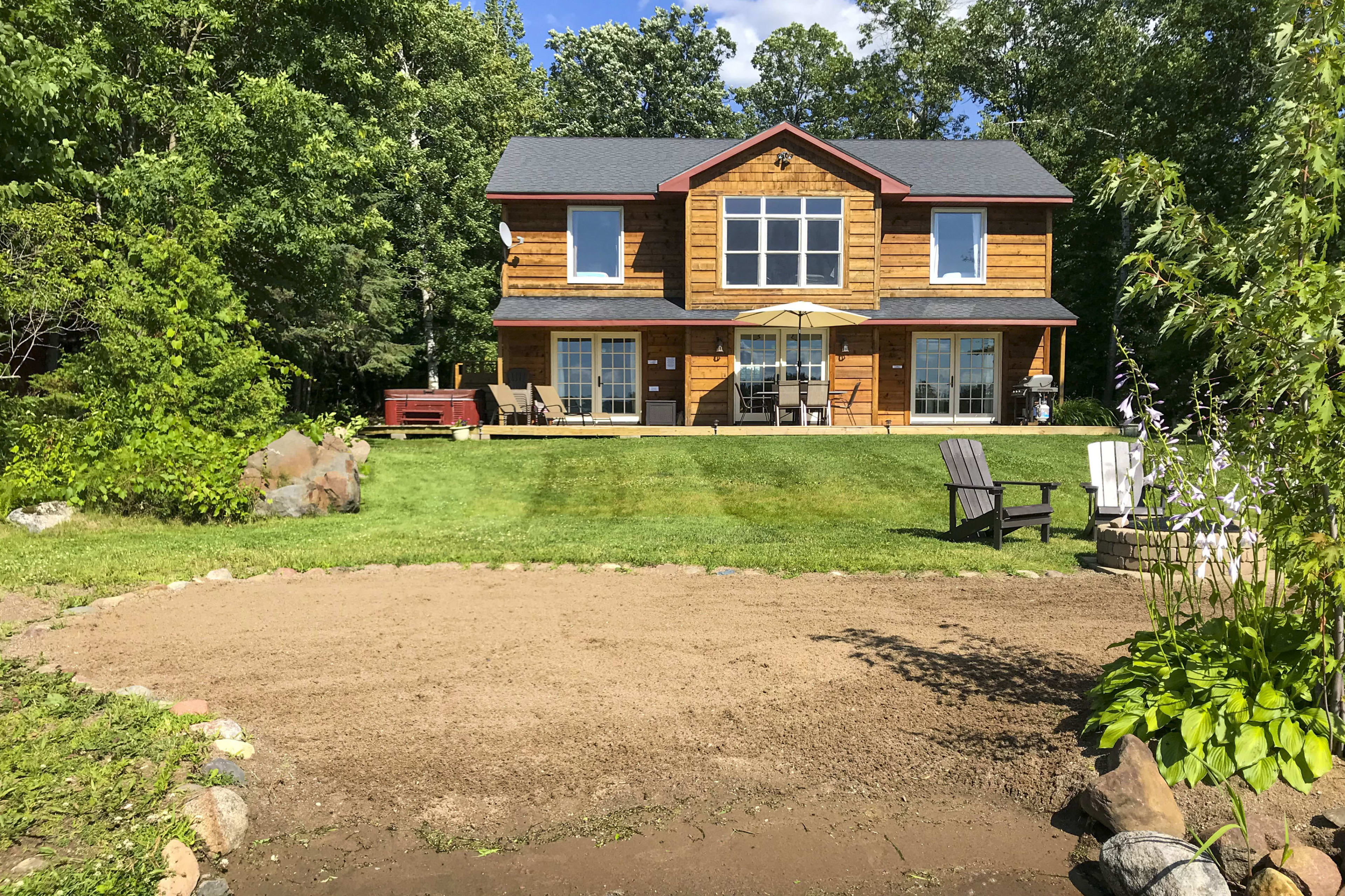Enjoy the Land of 10,000 Lakes in style when you book this 5-BR, 2.5-BA home!