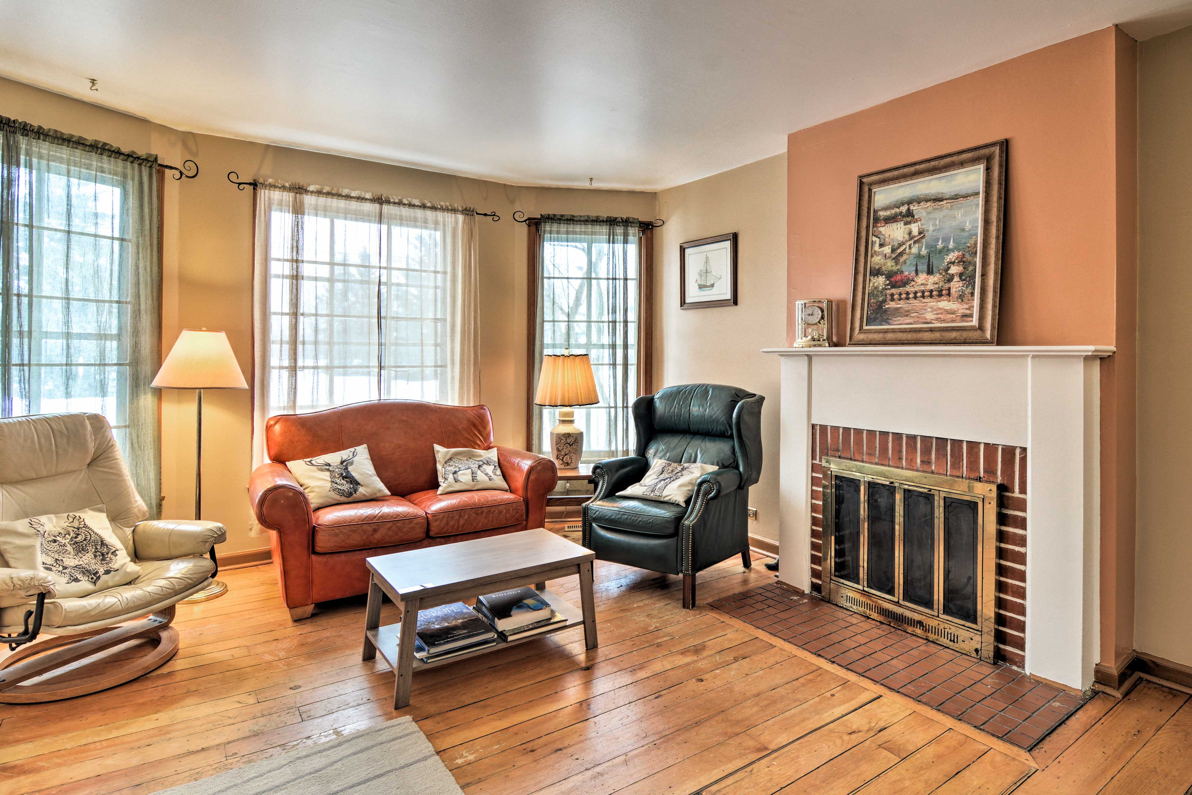 Make yourself at home inside this vacation rental house!