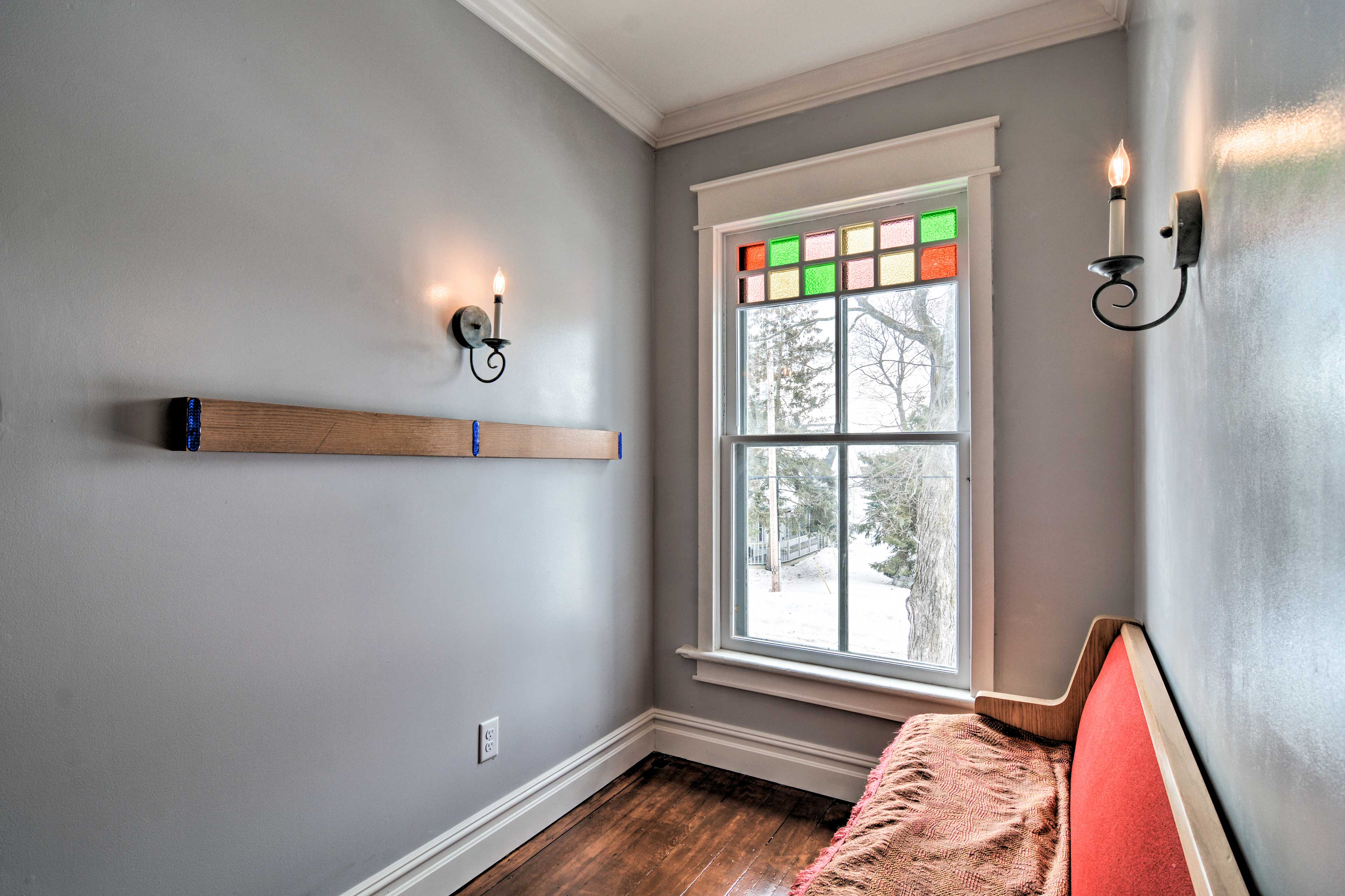 Enjoy some peace and quiet in this separate sitting room.