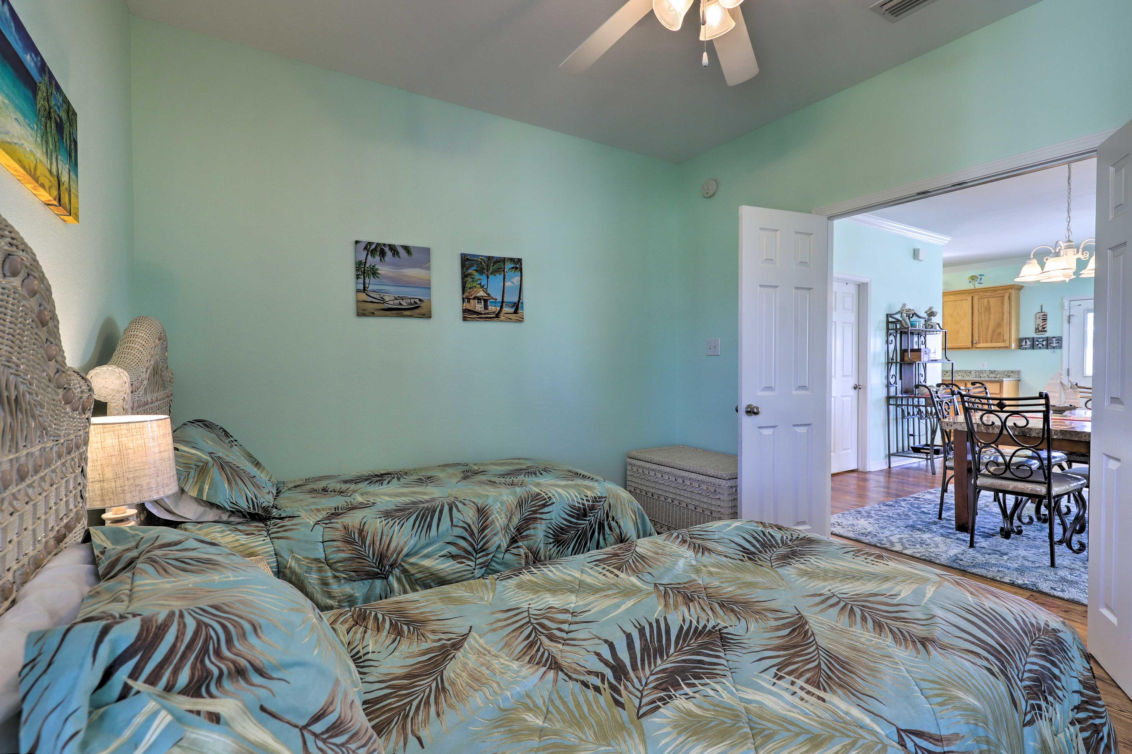 Bedroom 3 | Ceiling Fan