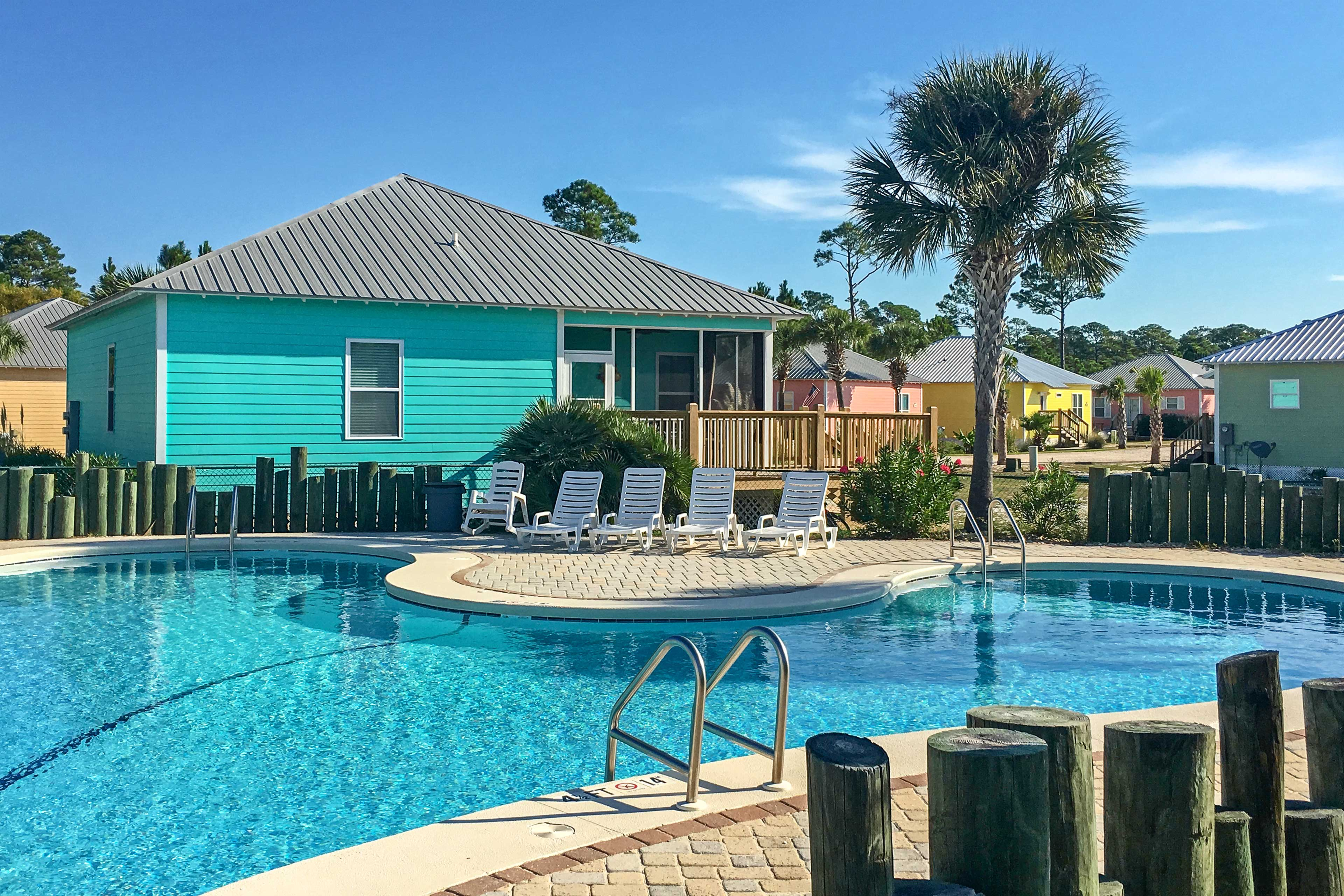 Gulf Shores Vacation Rental | 3BD | 2BA | 1,288 Sq Ft | Steps Required