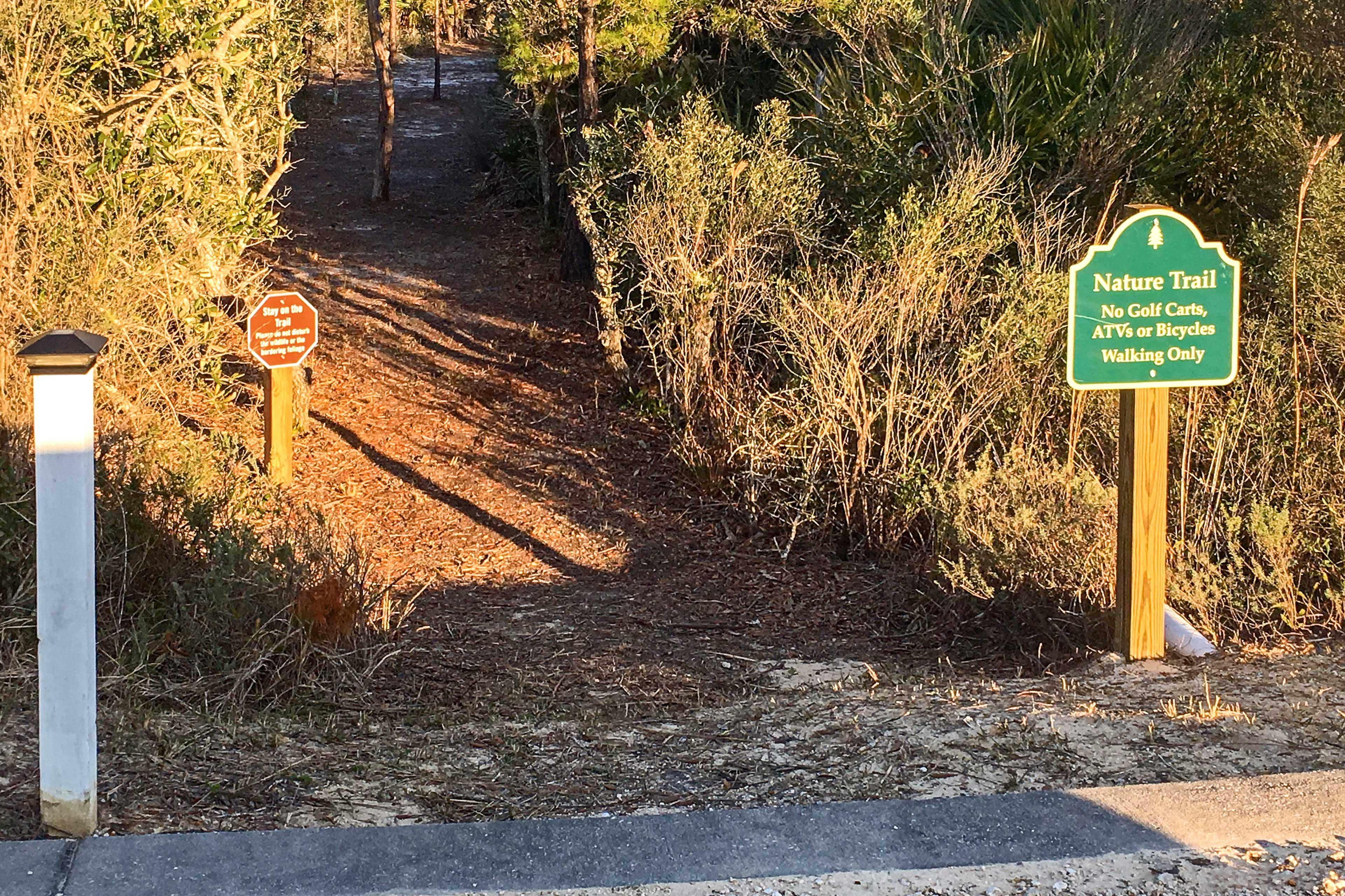 Community Amenities | Nature Trails