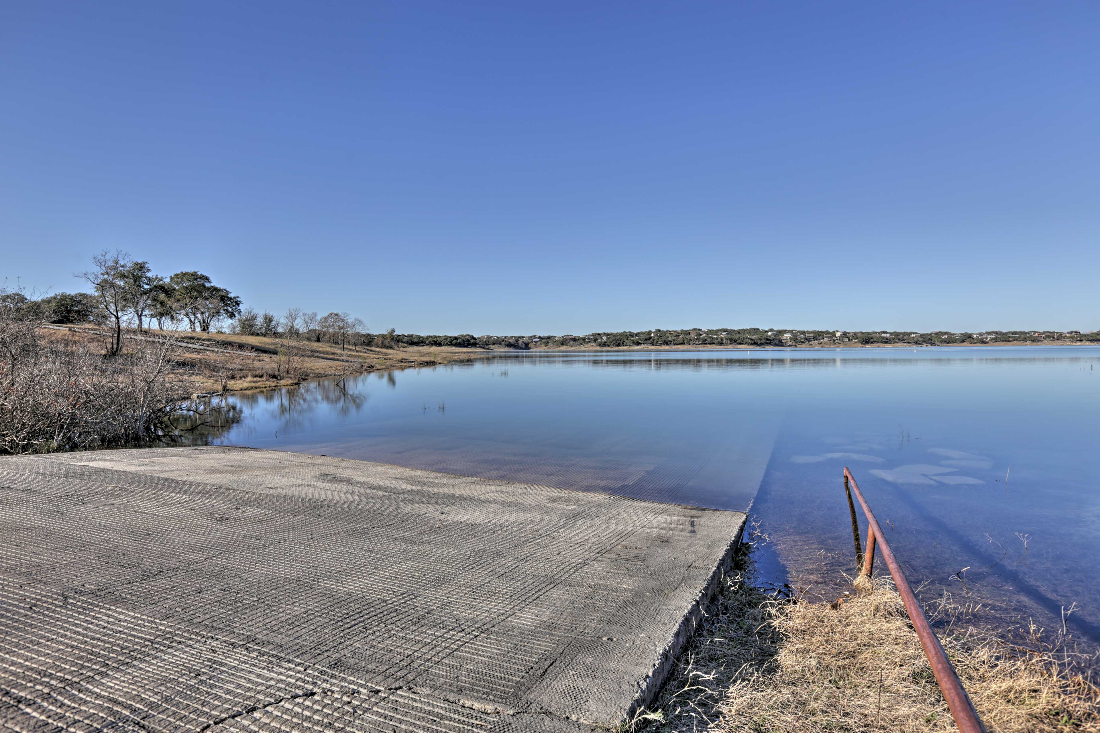 Feel free to use the community's private boat launch, just minutes away.