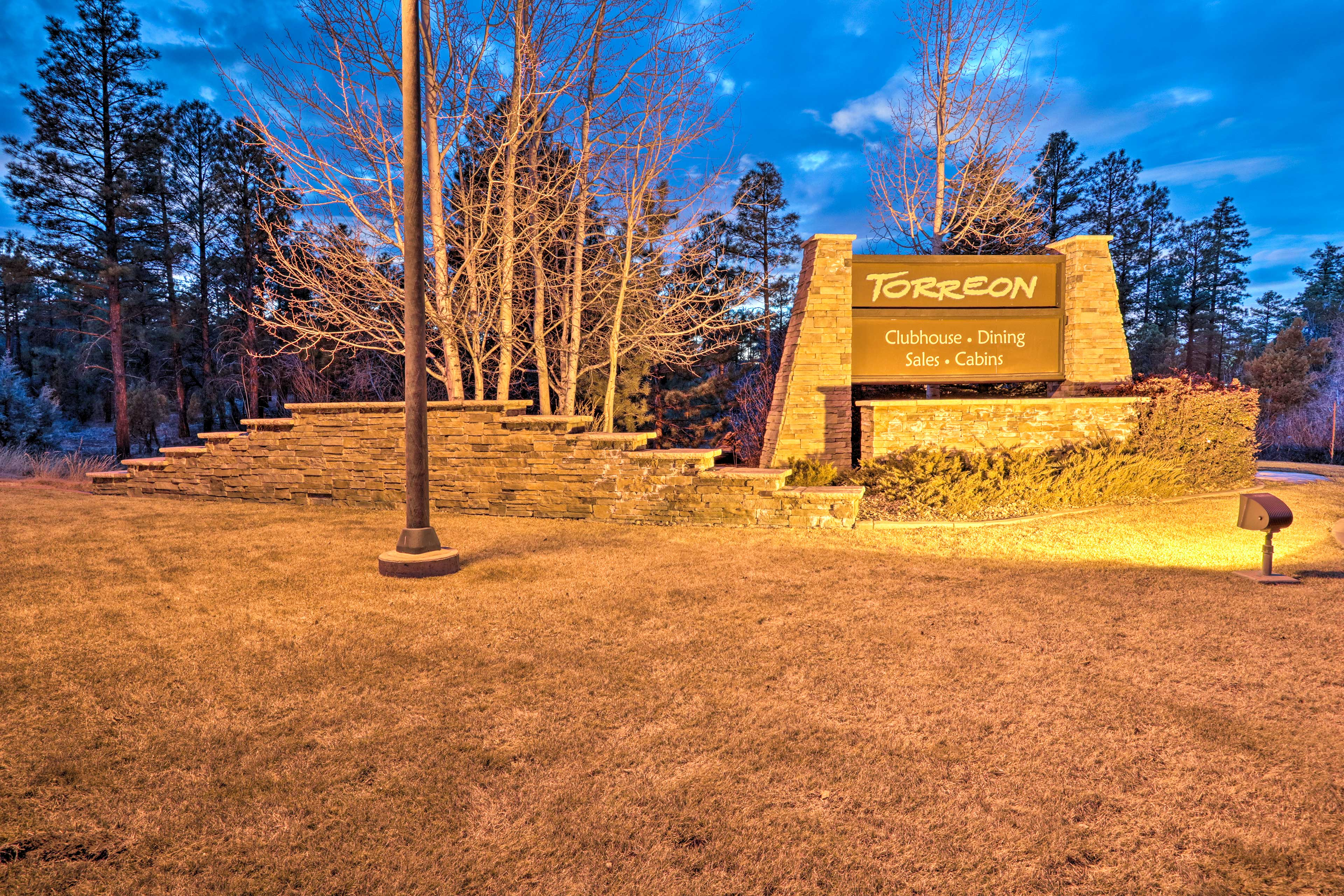 For an additional fee, enjoy access to community amenities!