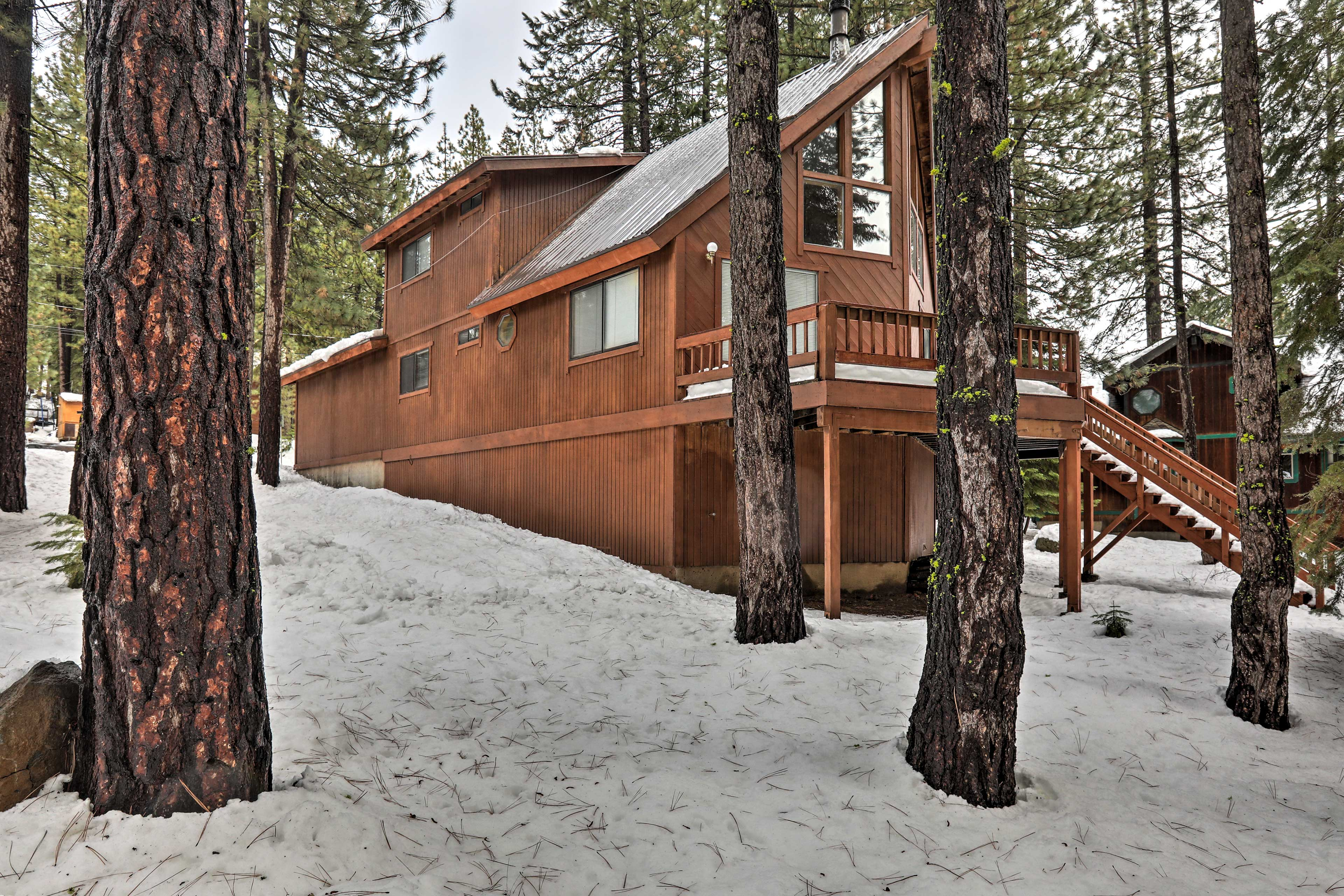 You'll love being immersed in nature while staying here.