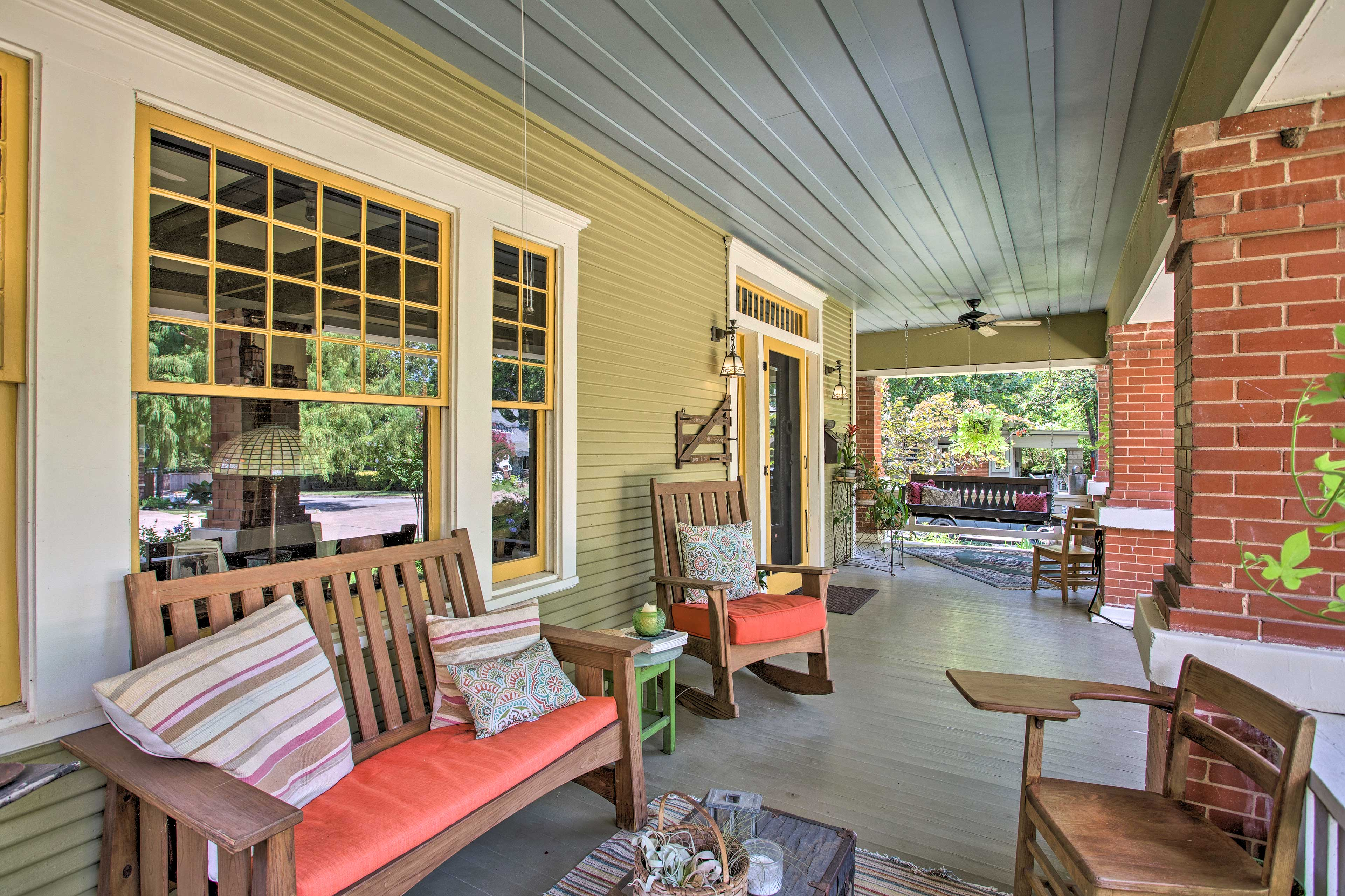 You'll also have access to the porch.