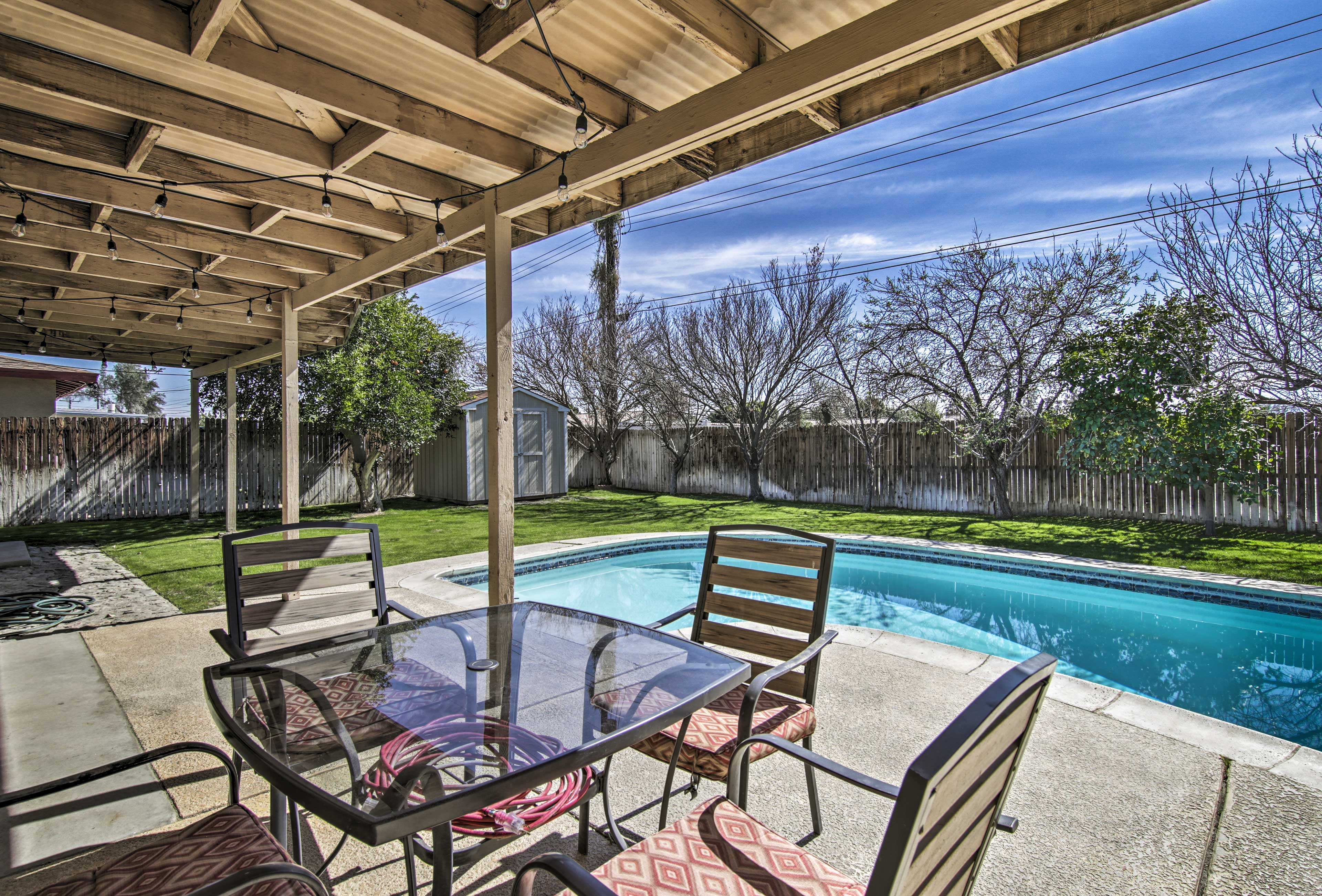 Enjoy the very best of Indio from this vacation rental house!