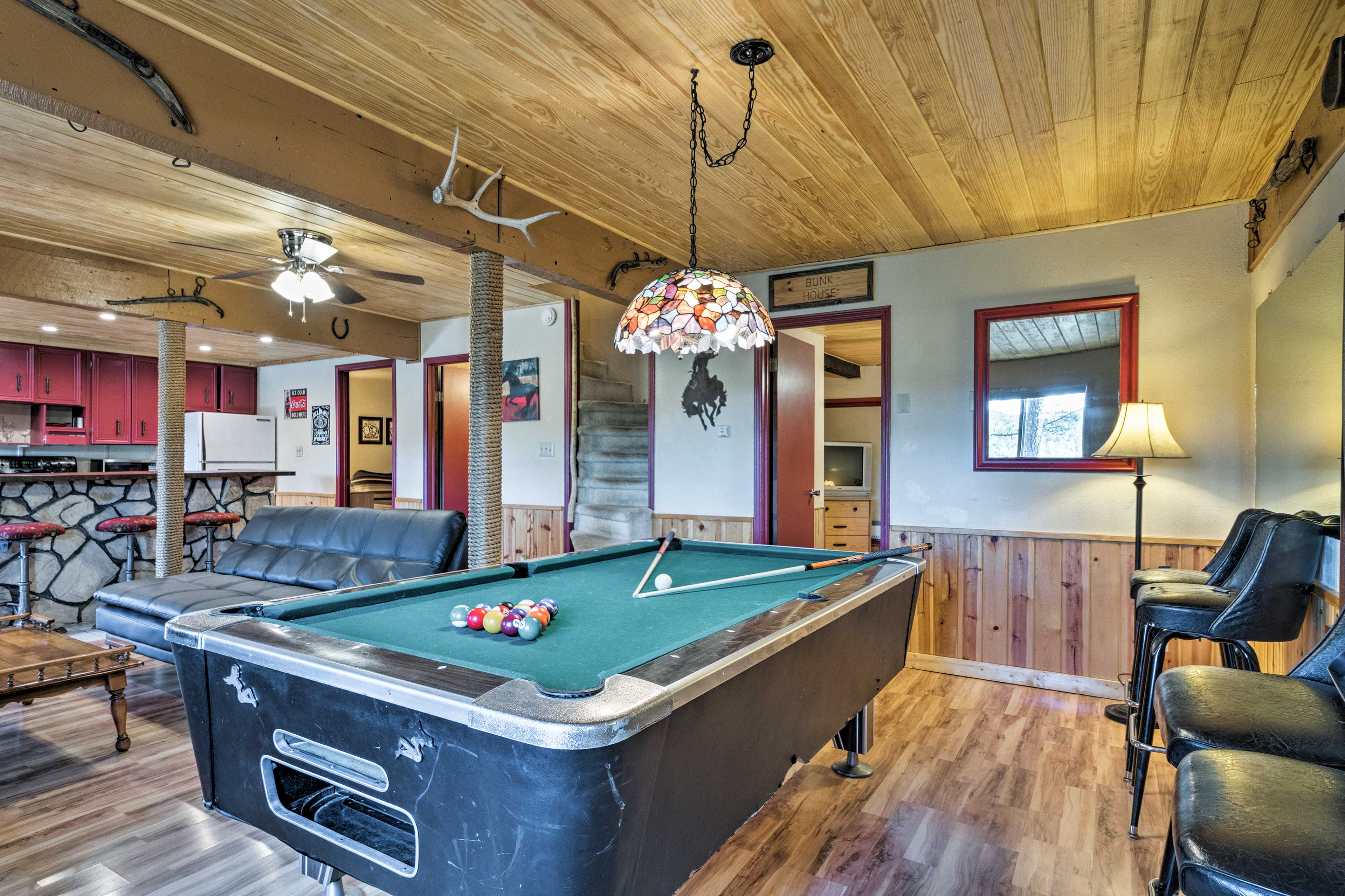 Minutes from Ruidoso Downs, this home can't be beat!