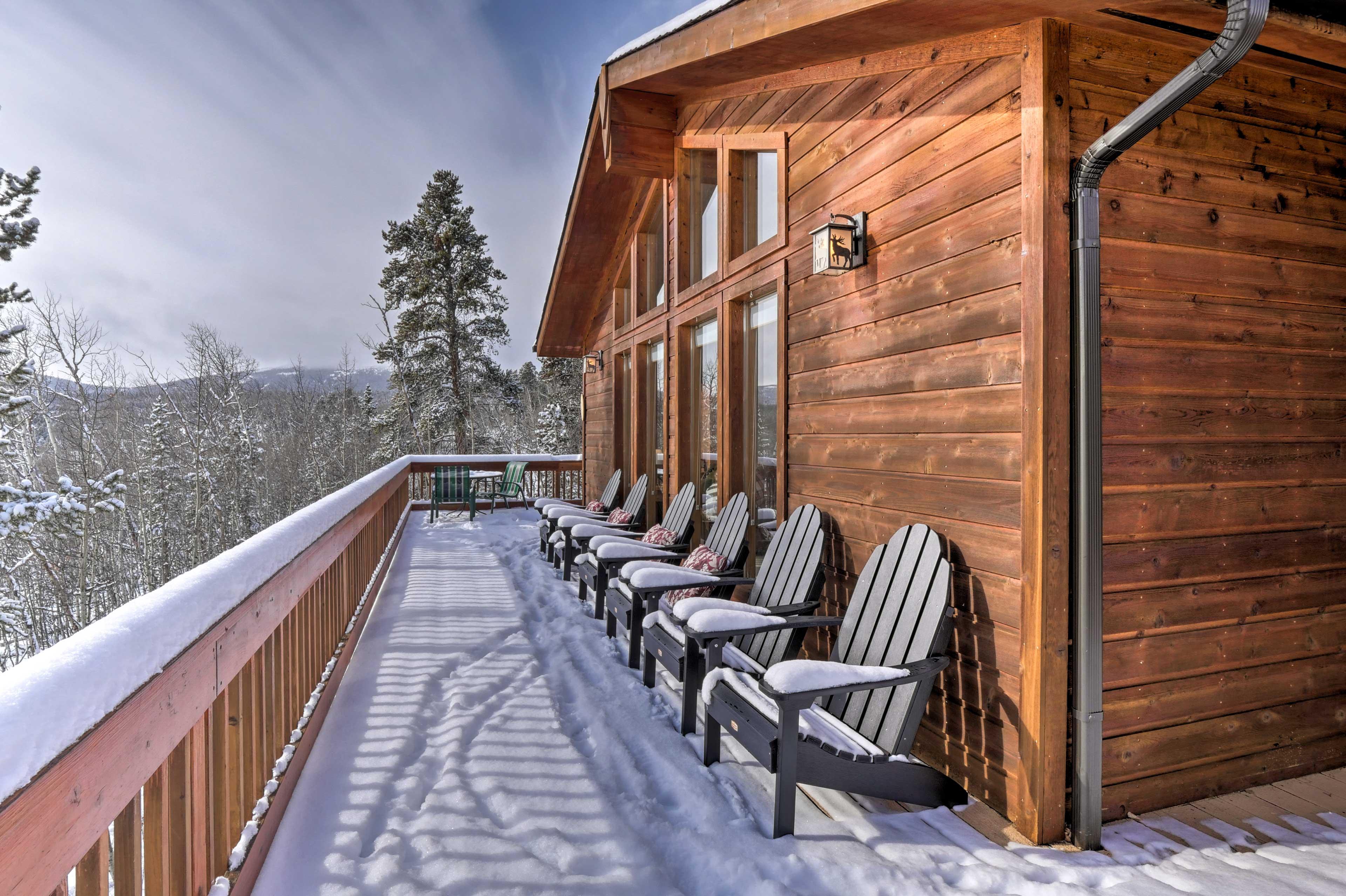 Visit during the ski season!