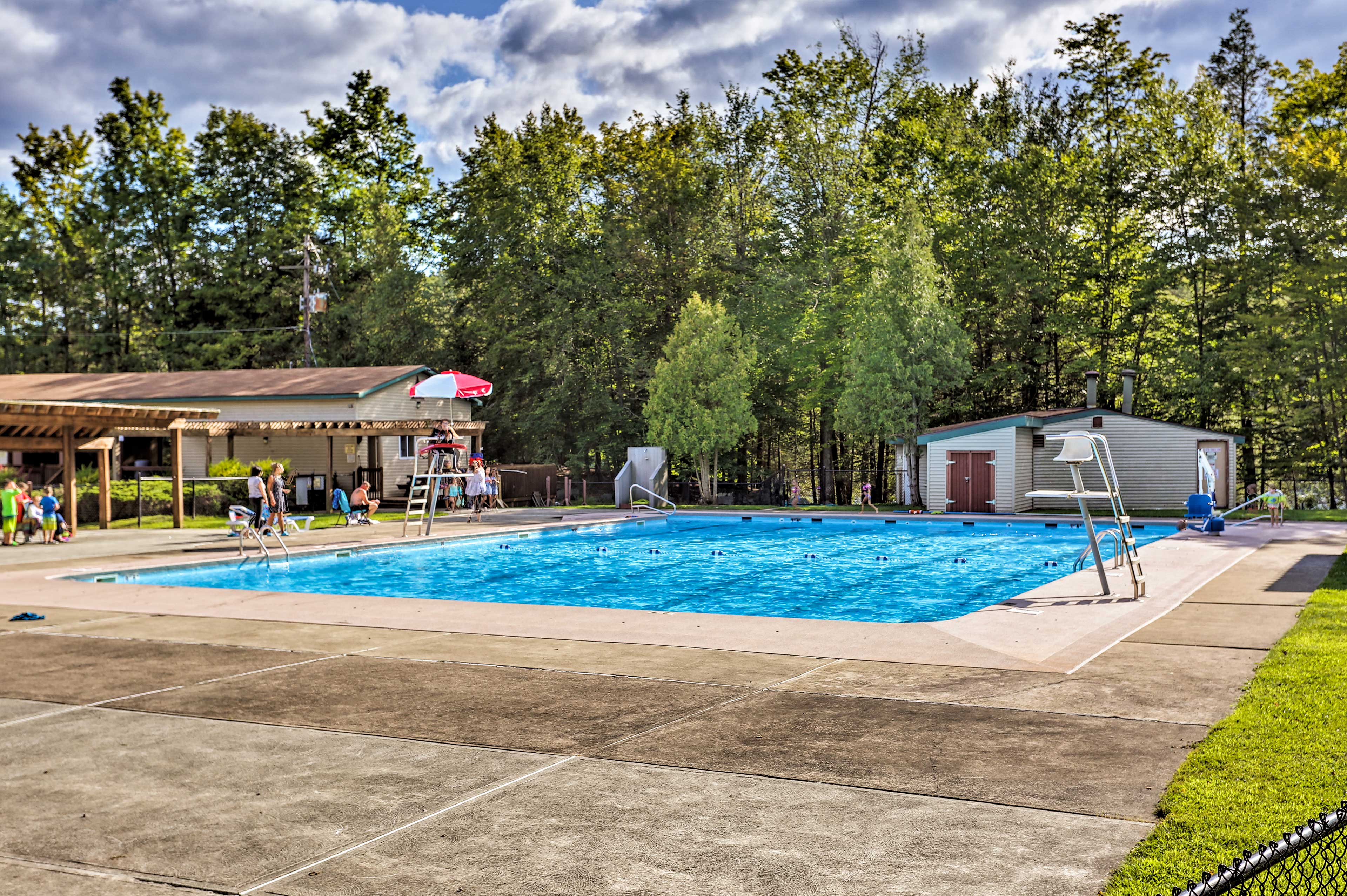 You'll have access to great community amenities!