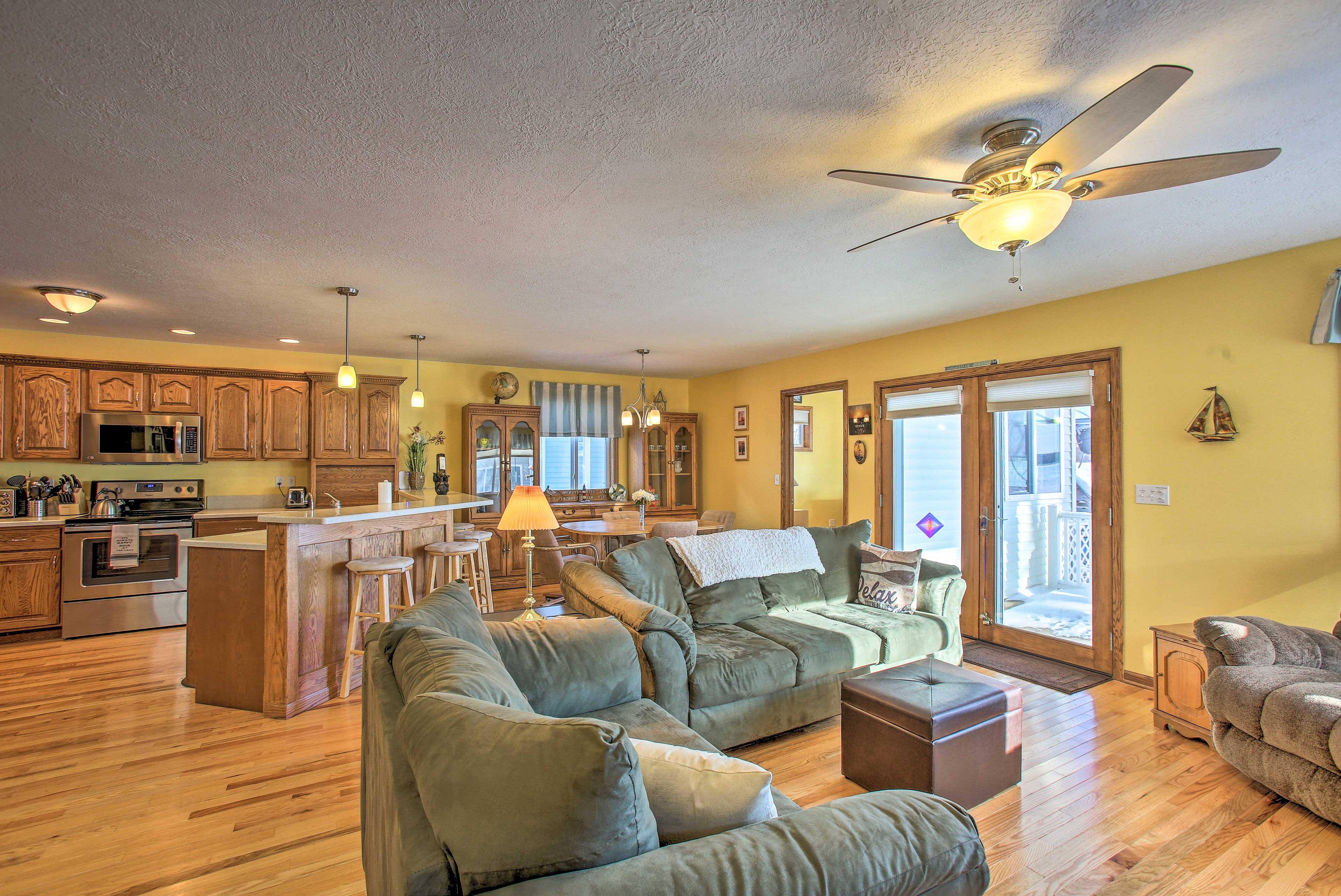 The 3-bedroom, 2-bathroom home is perfect for a family of 11.
