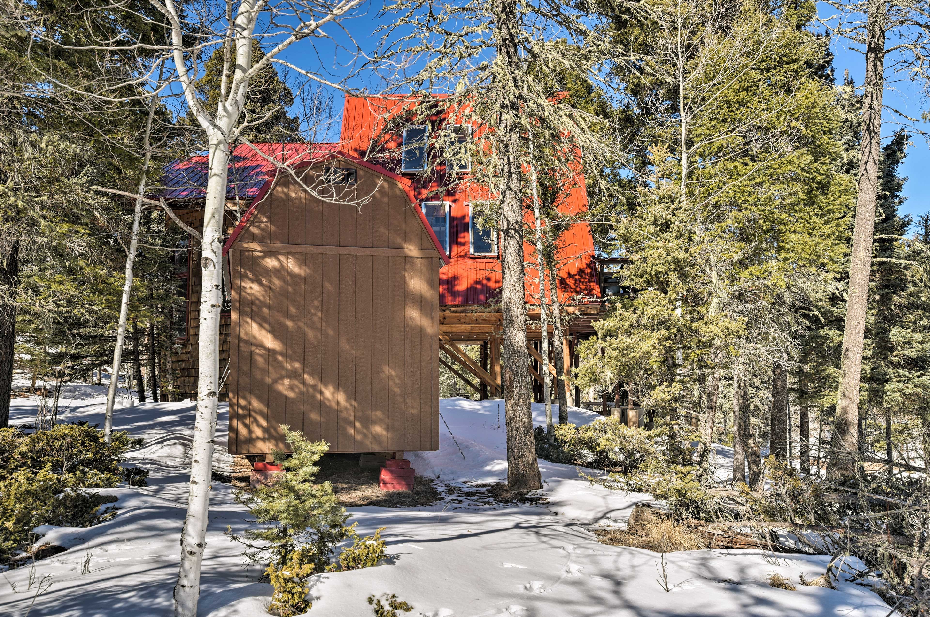 Book now to secure your spot in this Angel Fire Resort cabin!