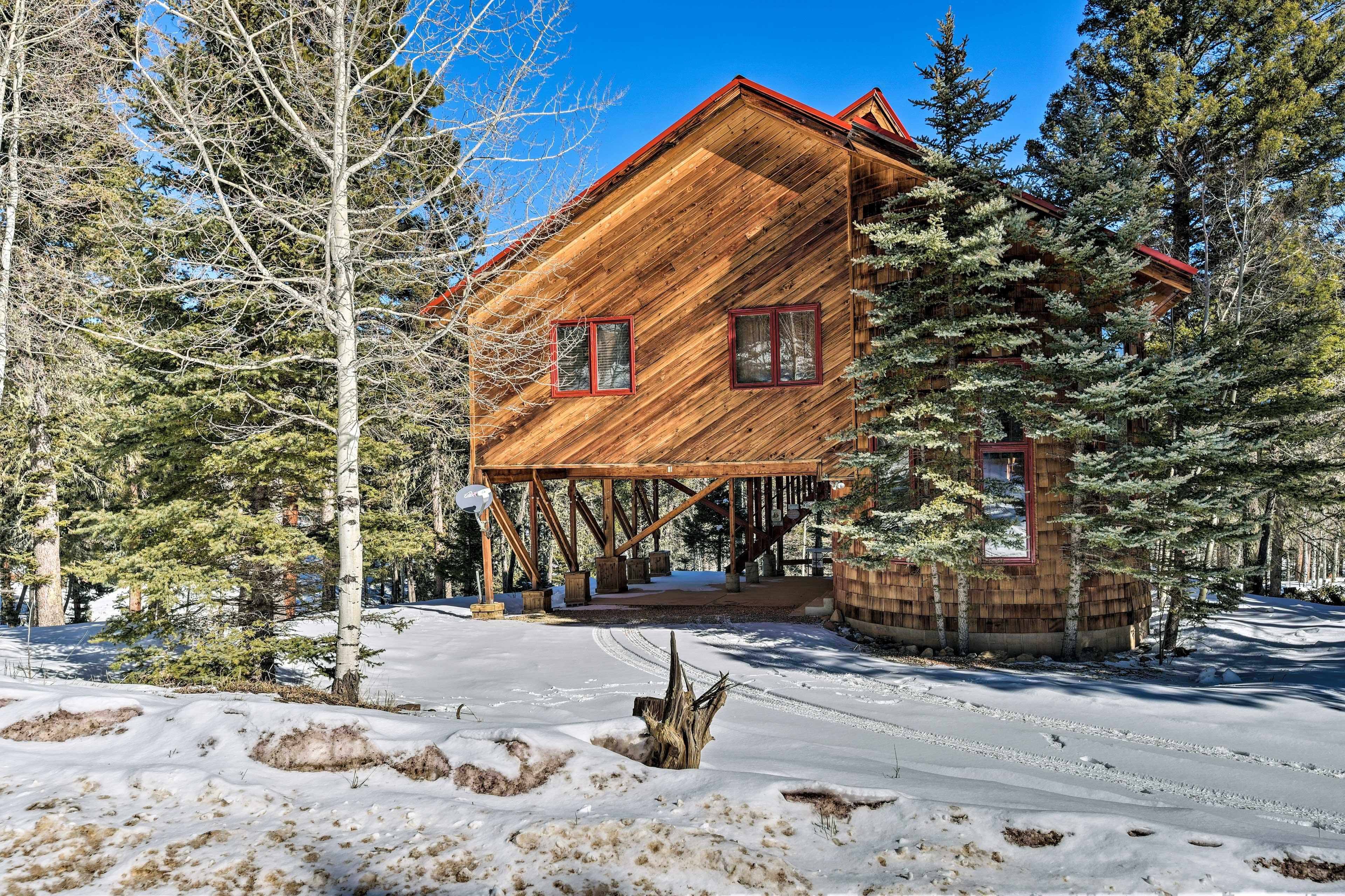 Angel Fire Resort boasts ski slopes, mountain bike trails, a golf course & more!