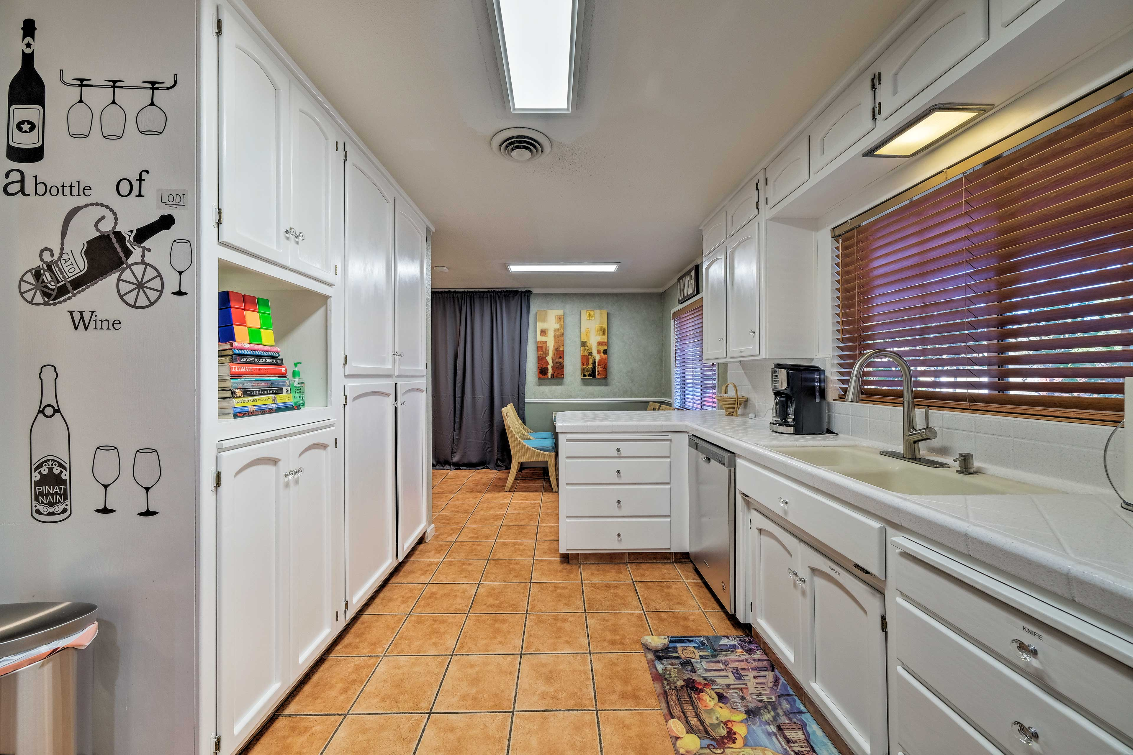 Kitchen | Fully Equipped | Standard Drip Coffee Maker