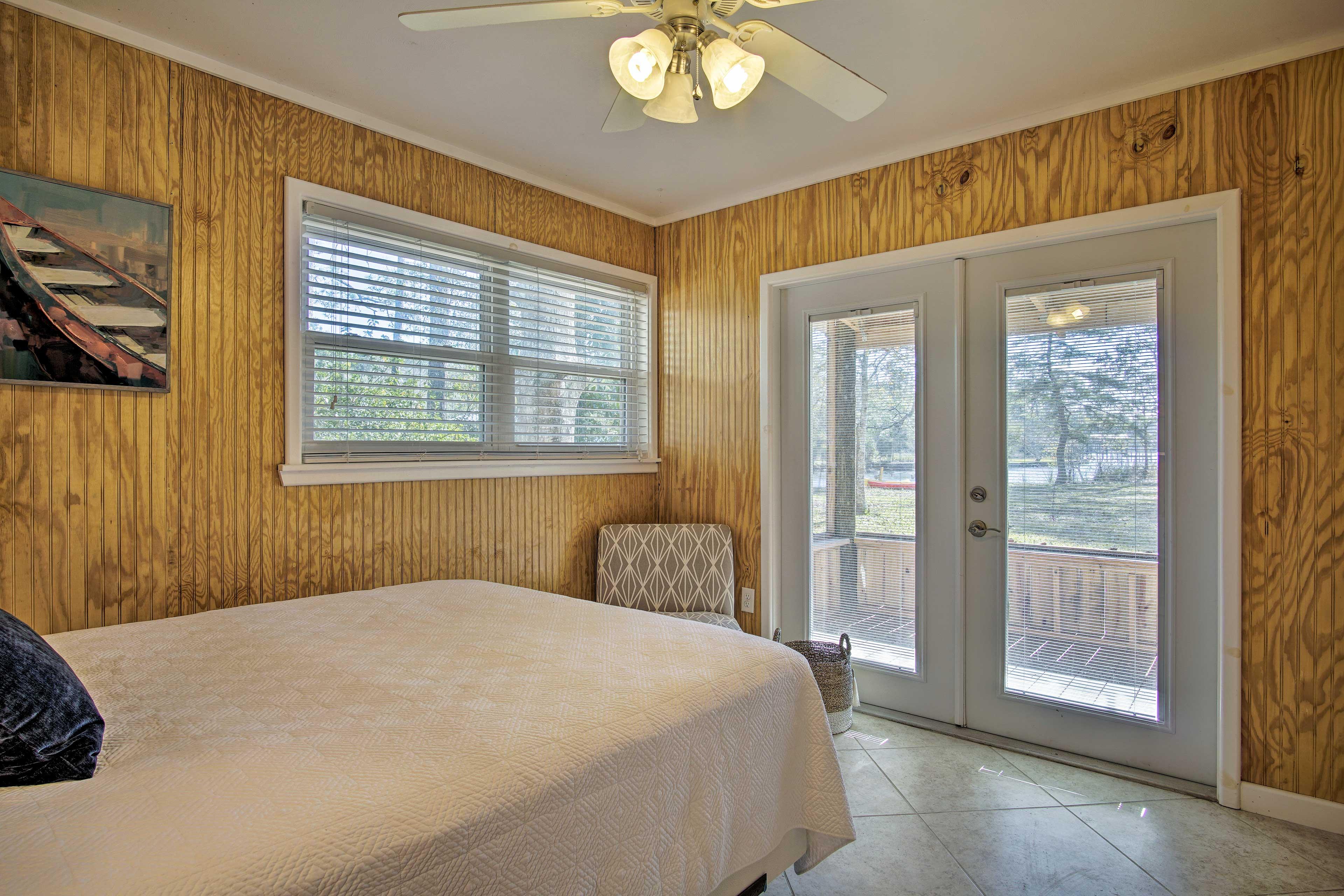 Master Bedroom   Patio Access