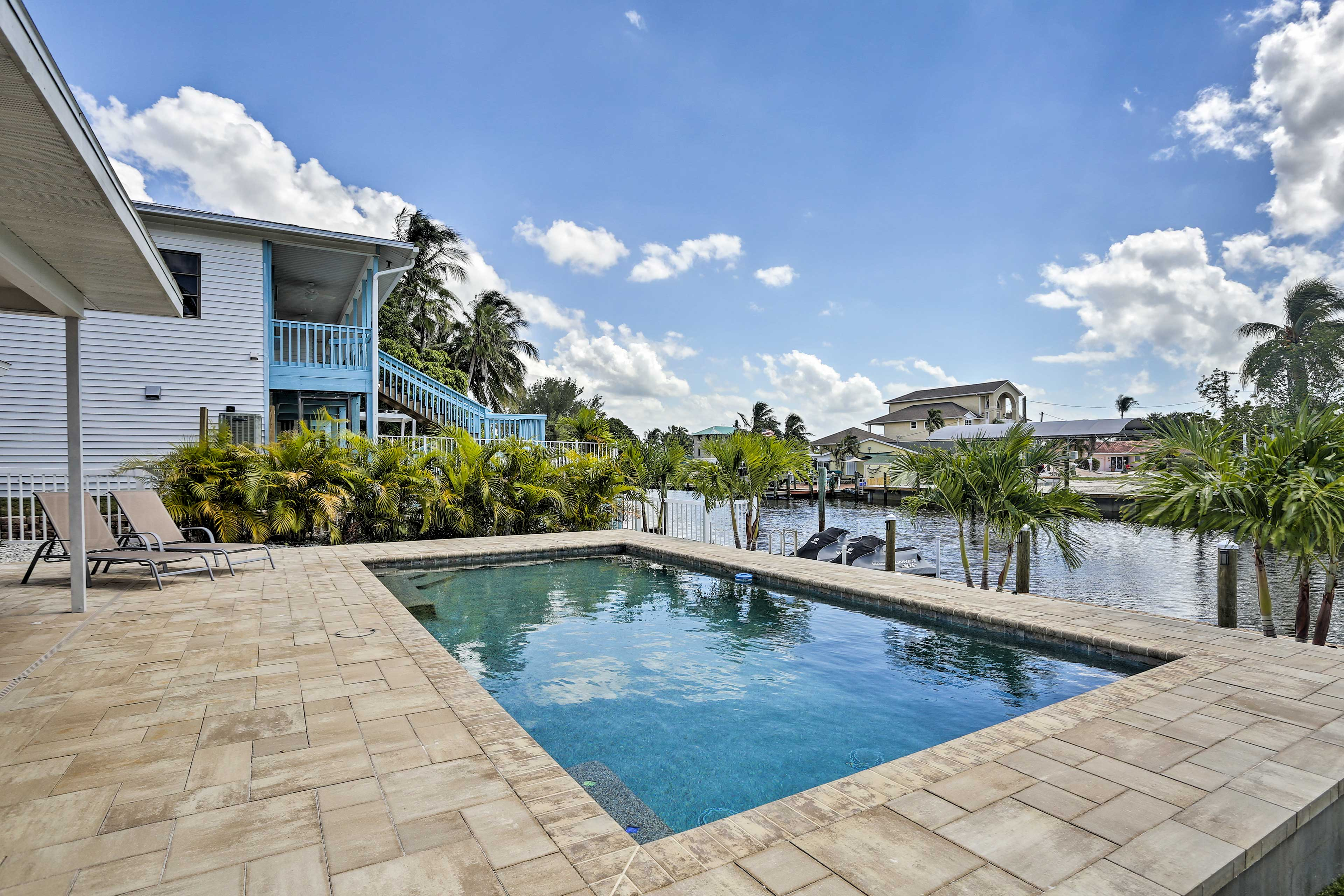 Dive into relaxation at this St. James City vacation rental!
