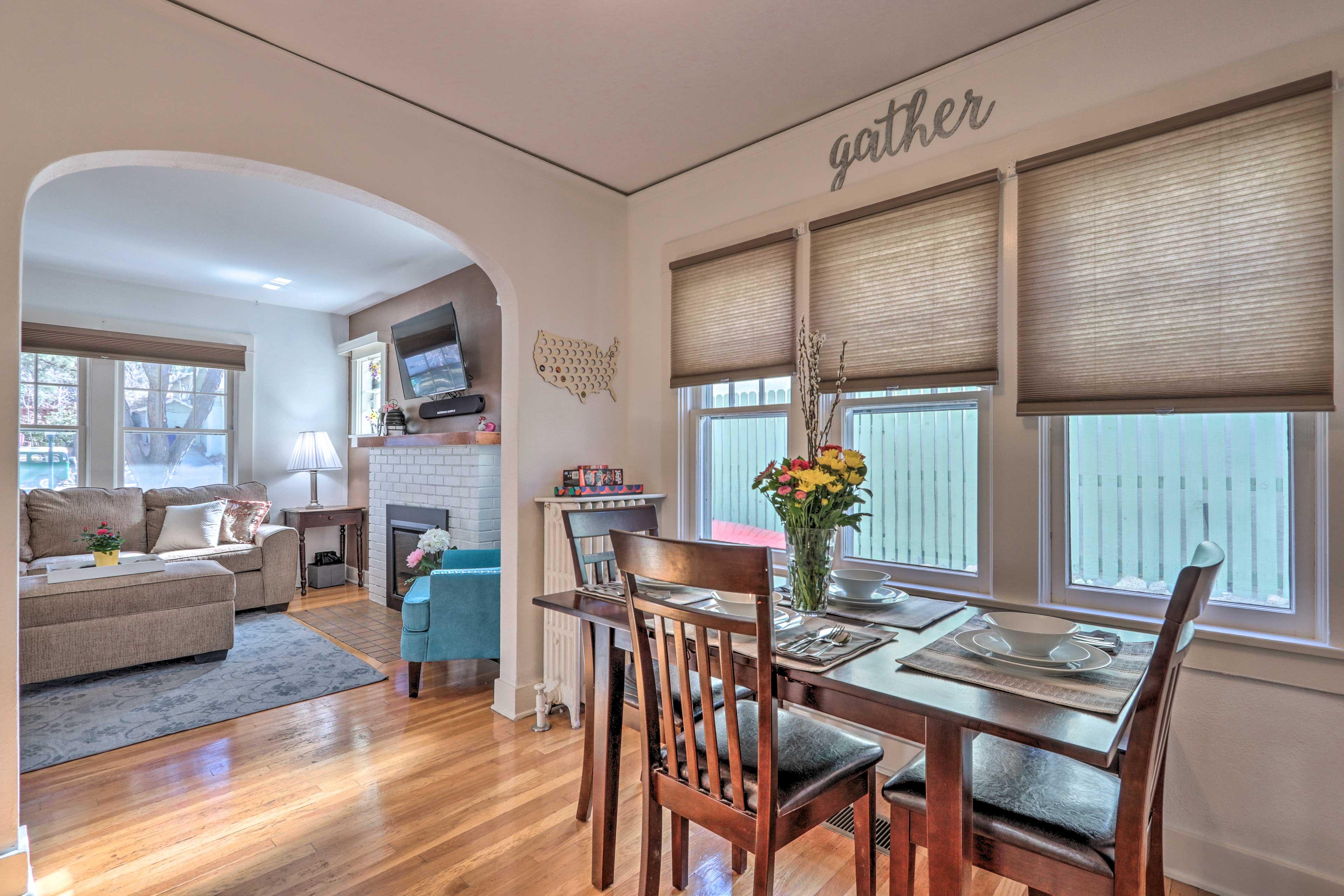 Book your Prescott getaway to this 2-bedroom, 2-bath vacation rental house!