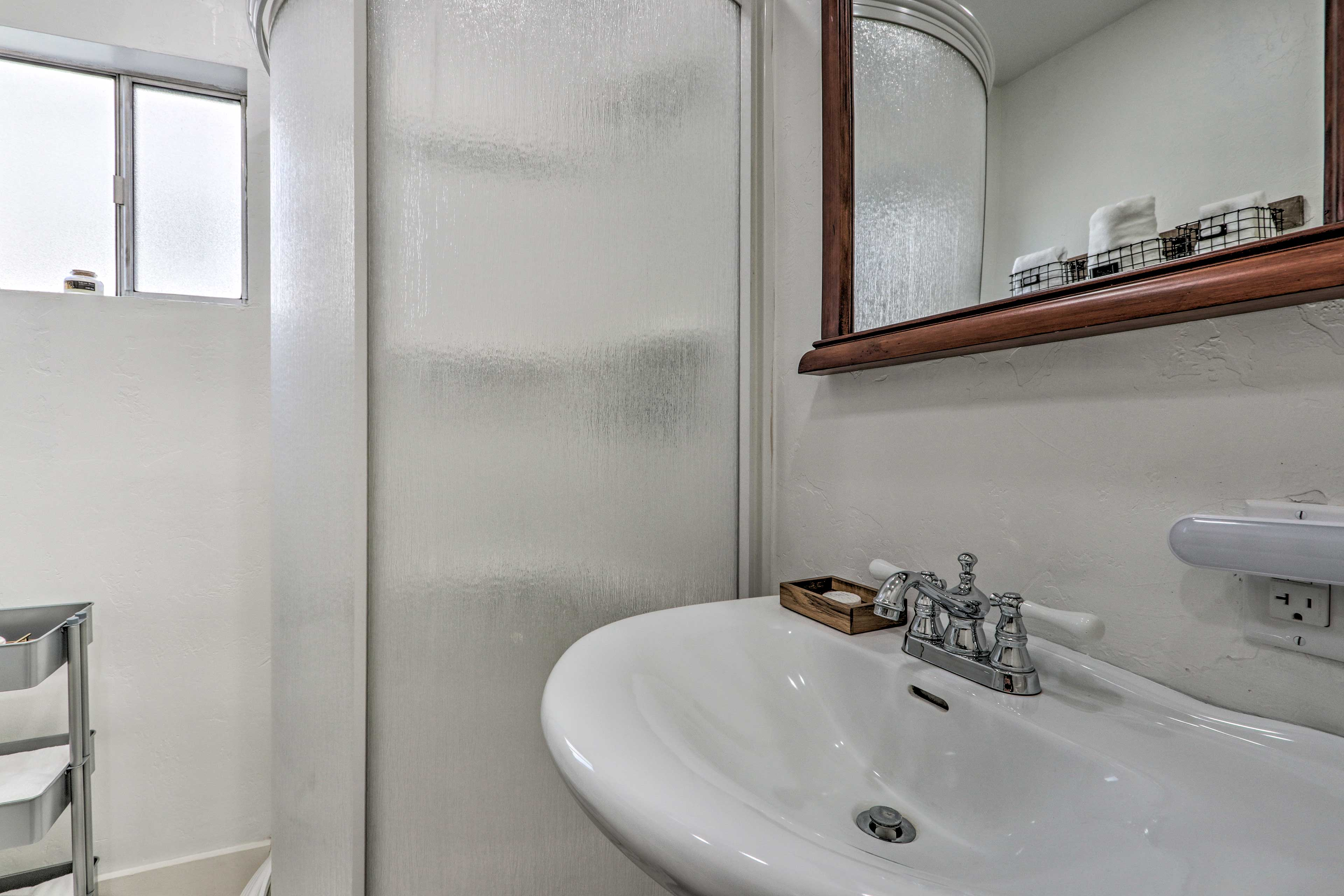 A second full bathroom provides additional privacy for your loved ones.