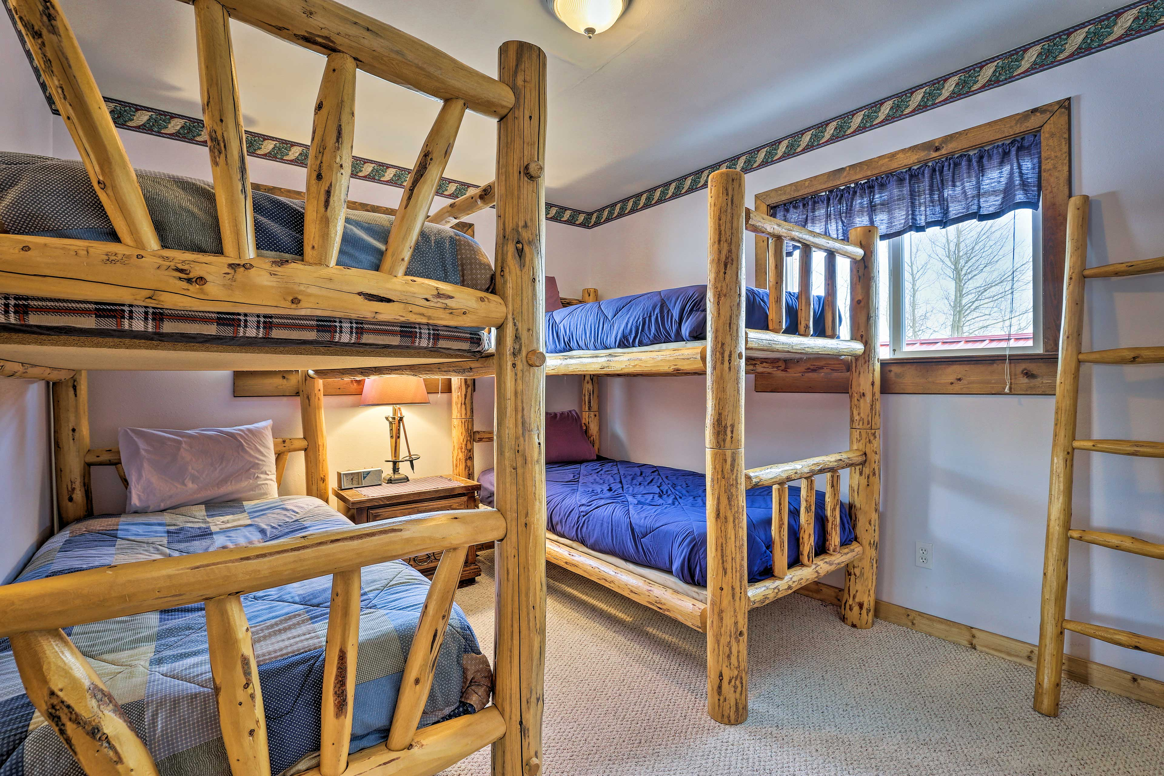 Kids will love staying in this cozy room.