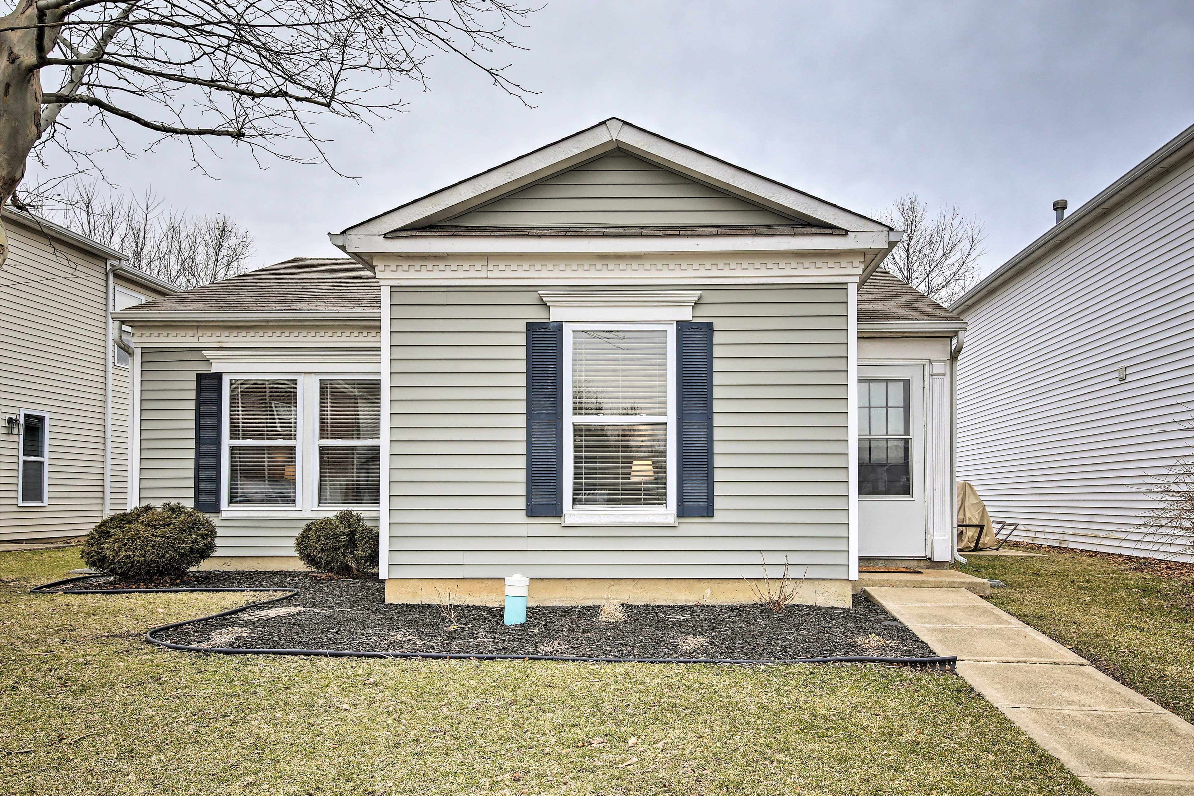 This house is the perfect home base in Lafayette!