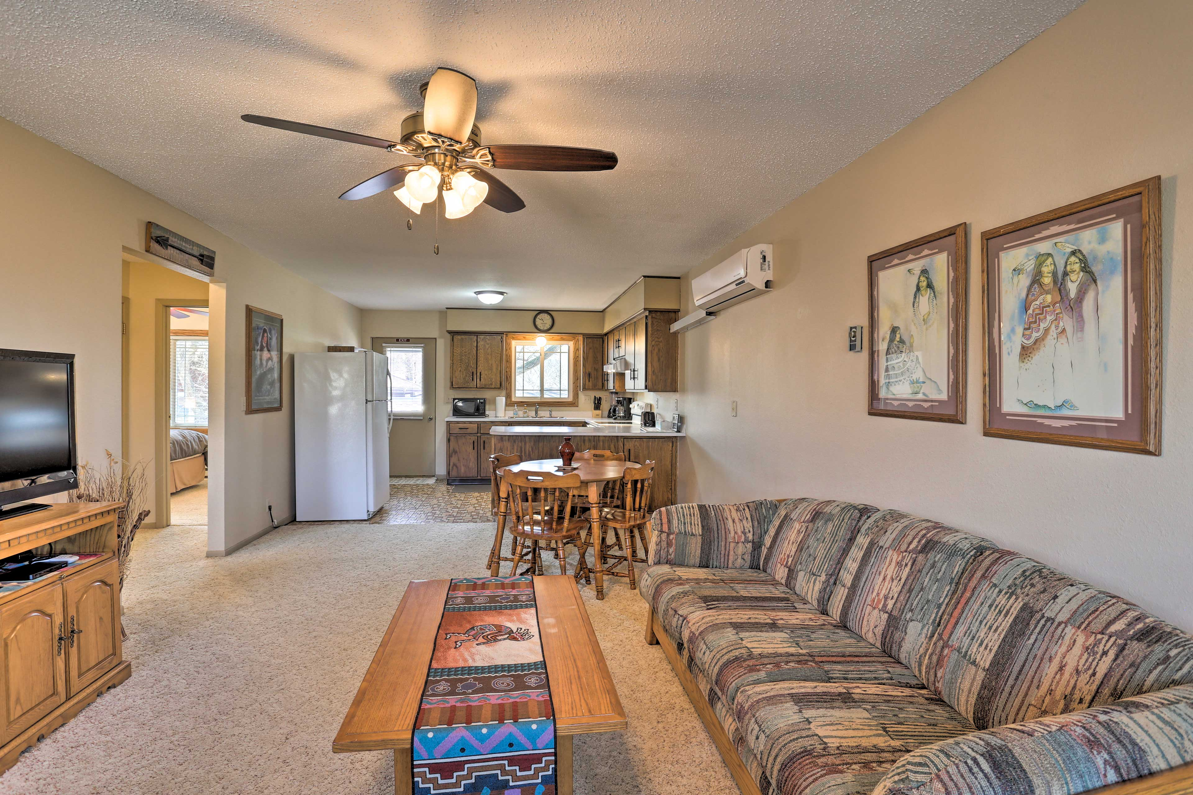 Medora Vacation Rental Condo | 2BR | 1BA | 900 Sq Ft | Stairs Required