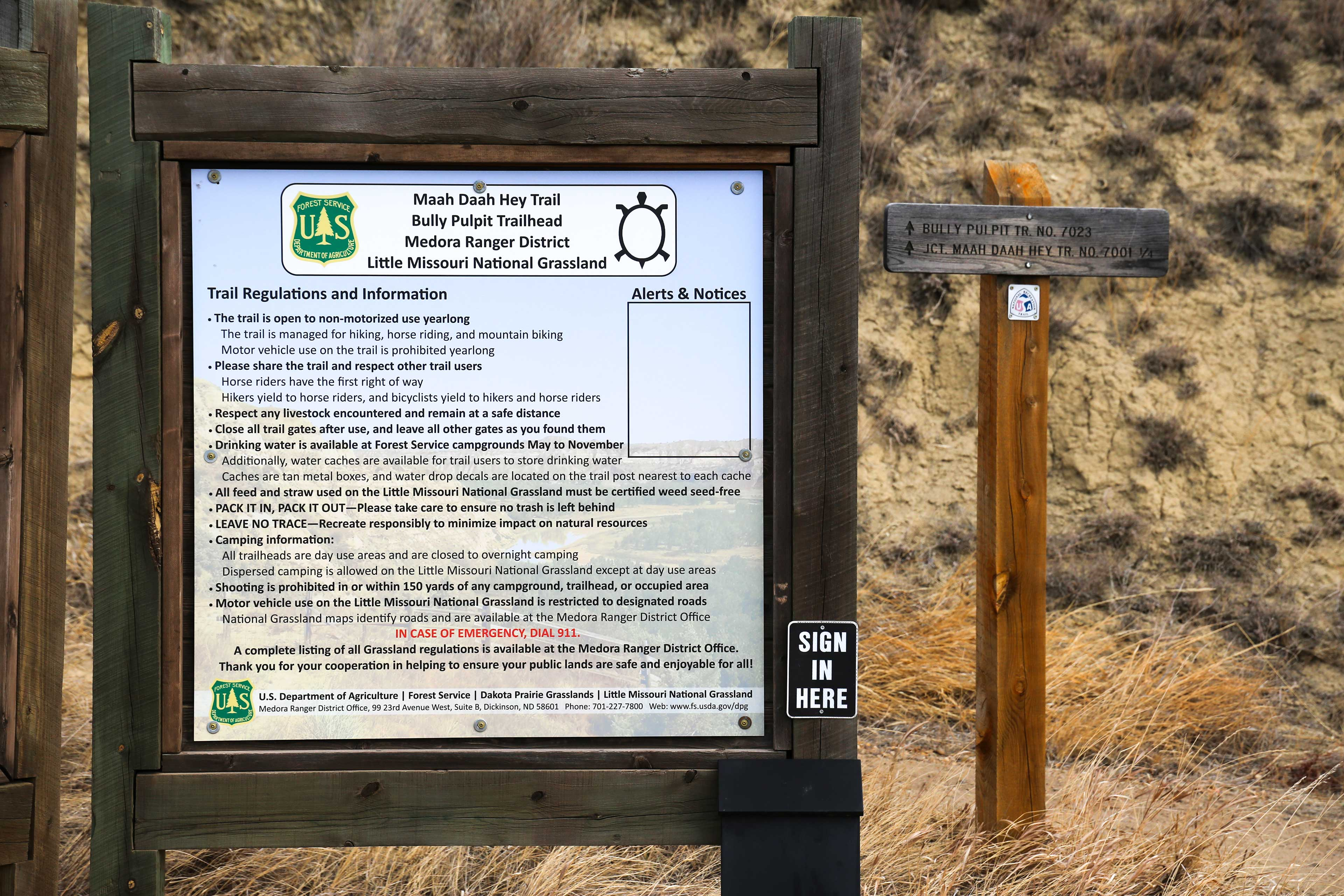 Nearby Attractions | Maah Daah Hey Trail | Bully Pulpit Trailhead