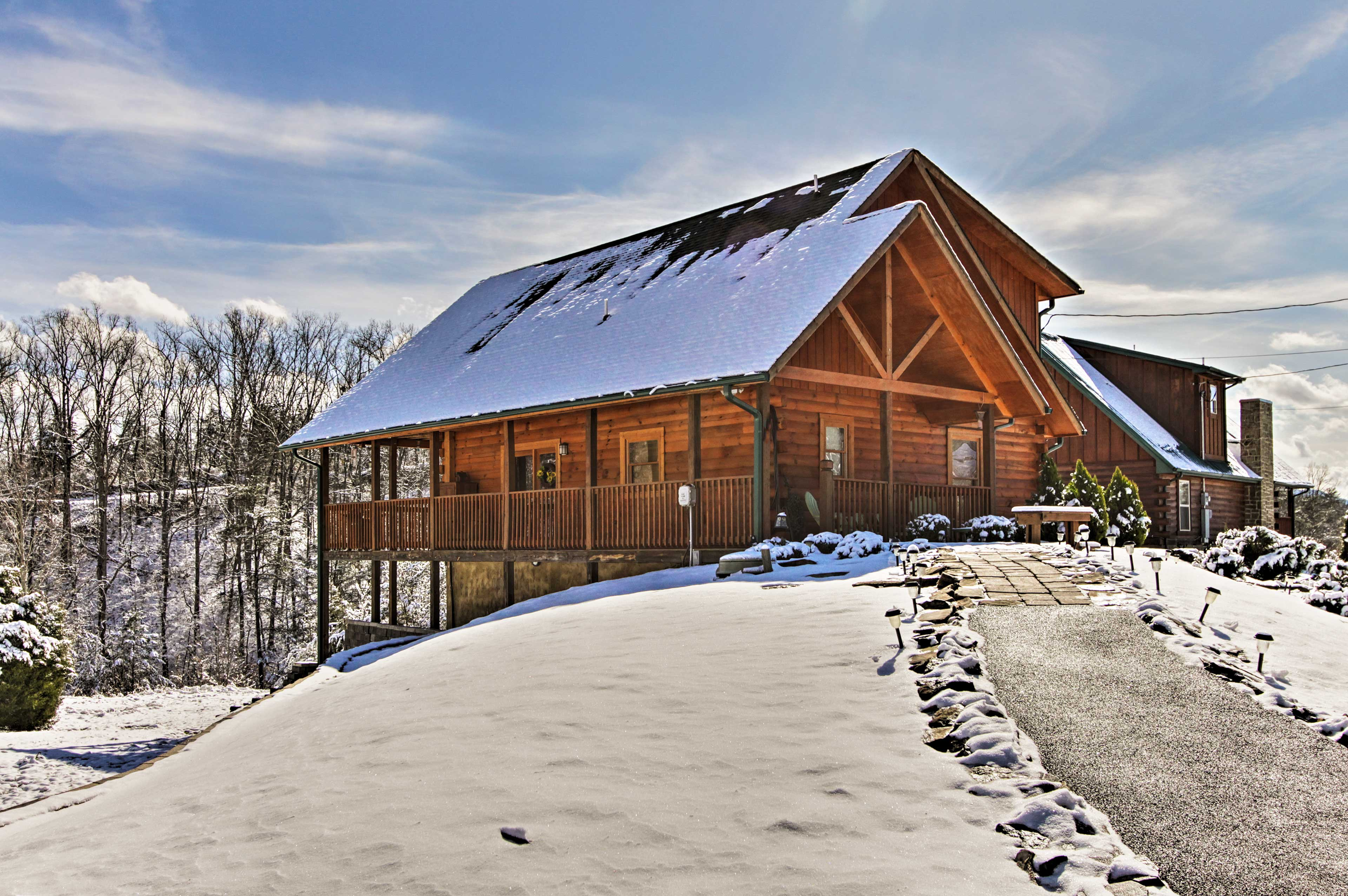 Your cabin is only a short drive from Pigeon Forge, Gatlinburg, and GSMNP!