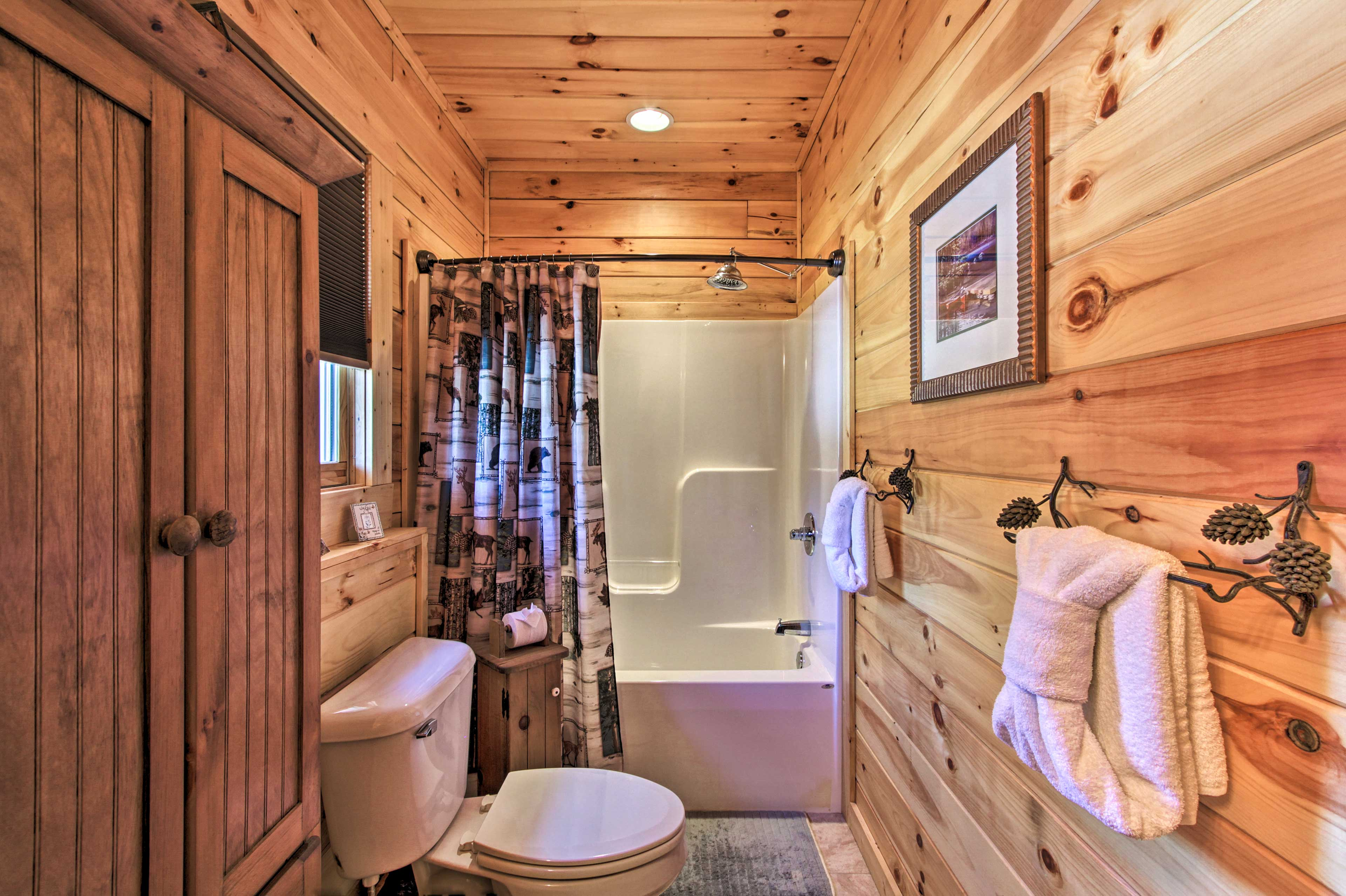 The home features 2 full bathrooms for your convenience.