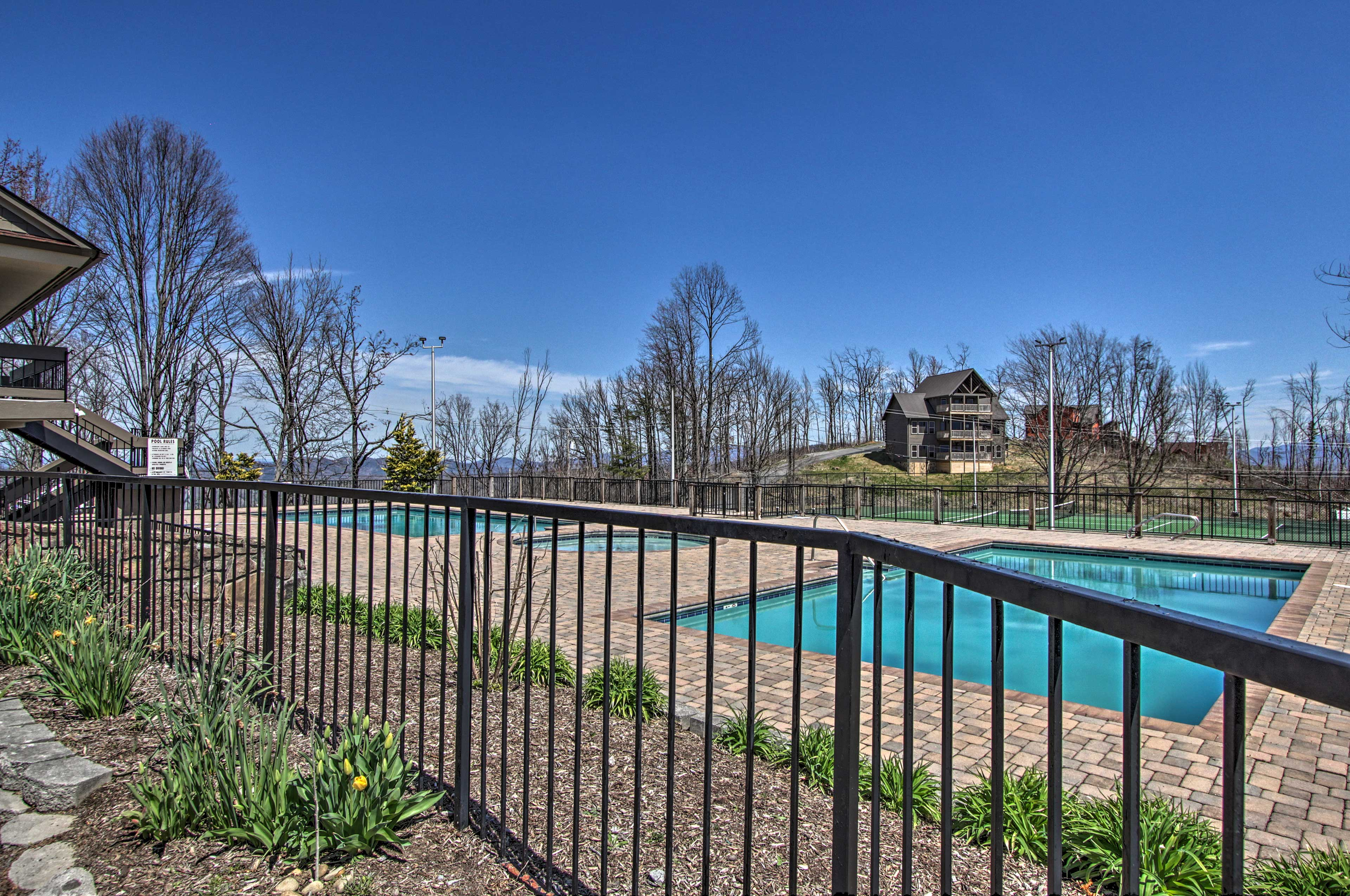 Don't forget to check out the community pool if you visit in warmer months!