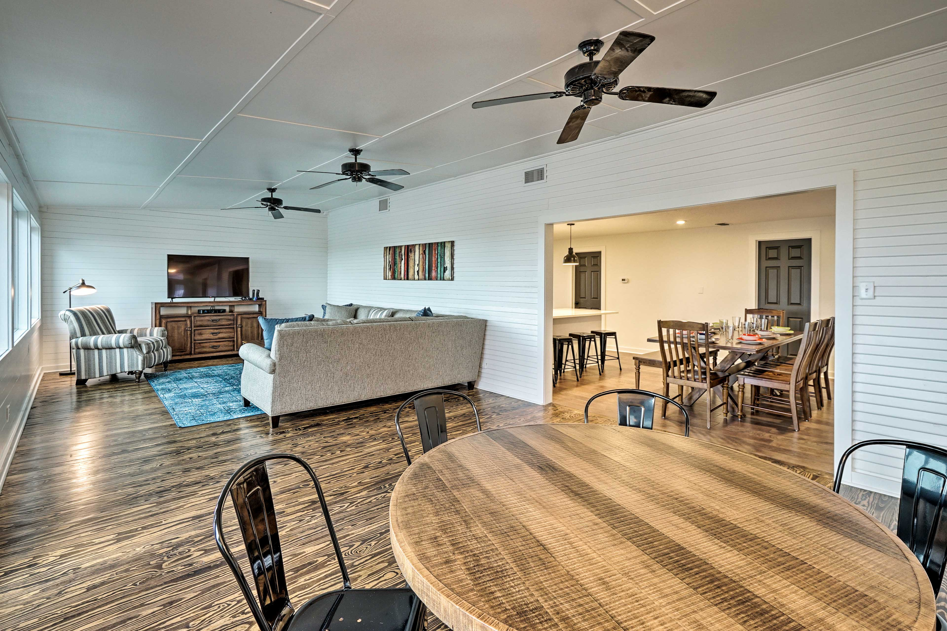 Make yourself at home inside this charming vacation rental house!