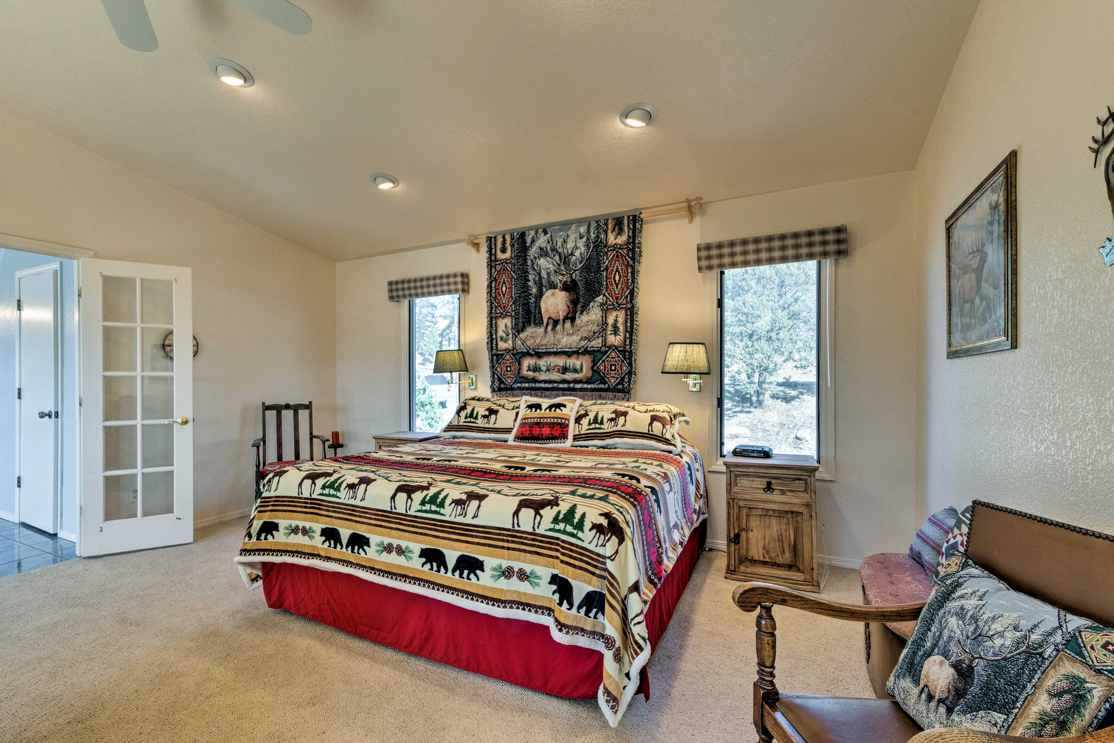 Bright and spacious, the upscale master suite awaits!