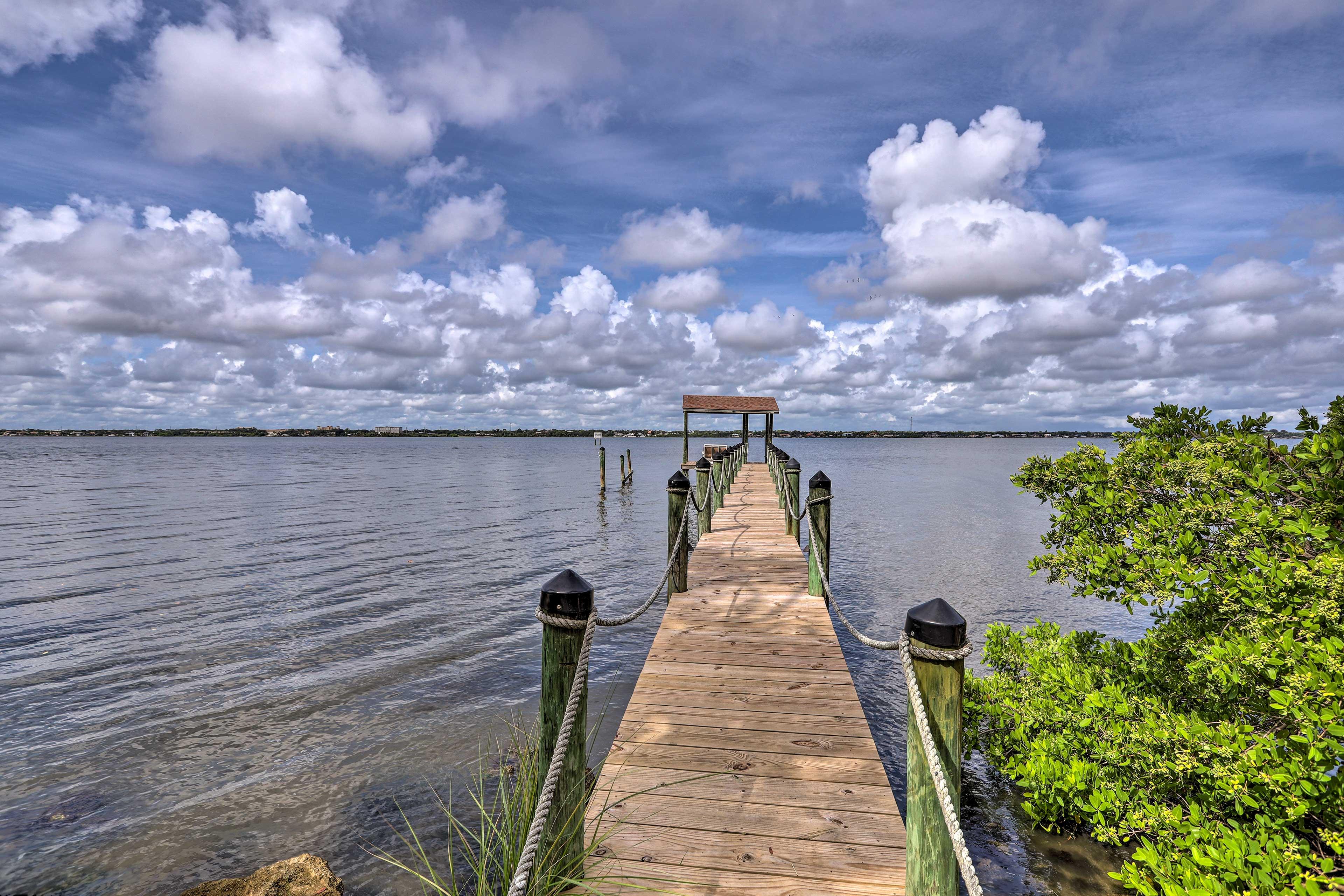 Shared Community Amenities | Dock