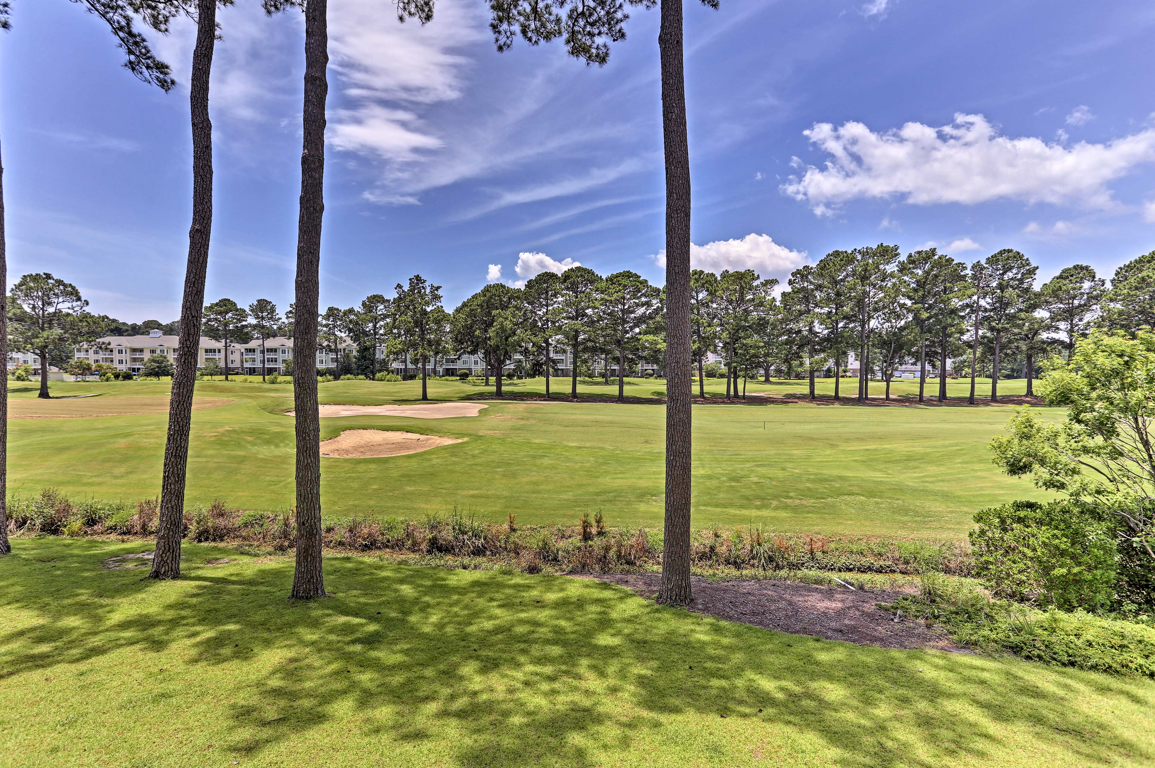 Golf enthusiasts will love the proximity to the Myrtlewood Golf Club.
