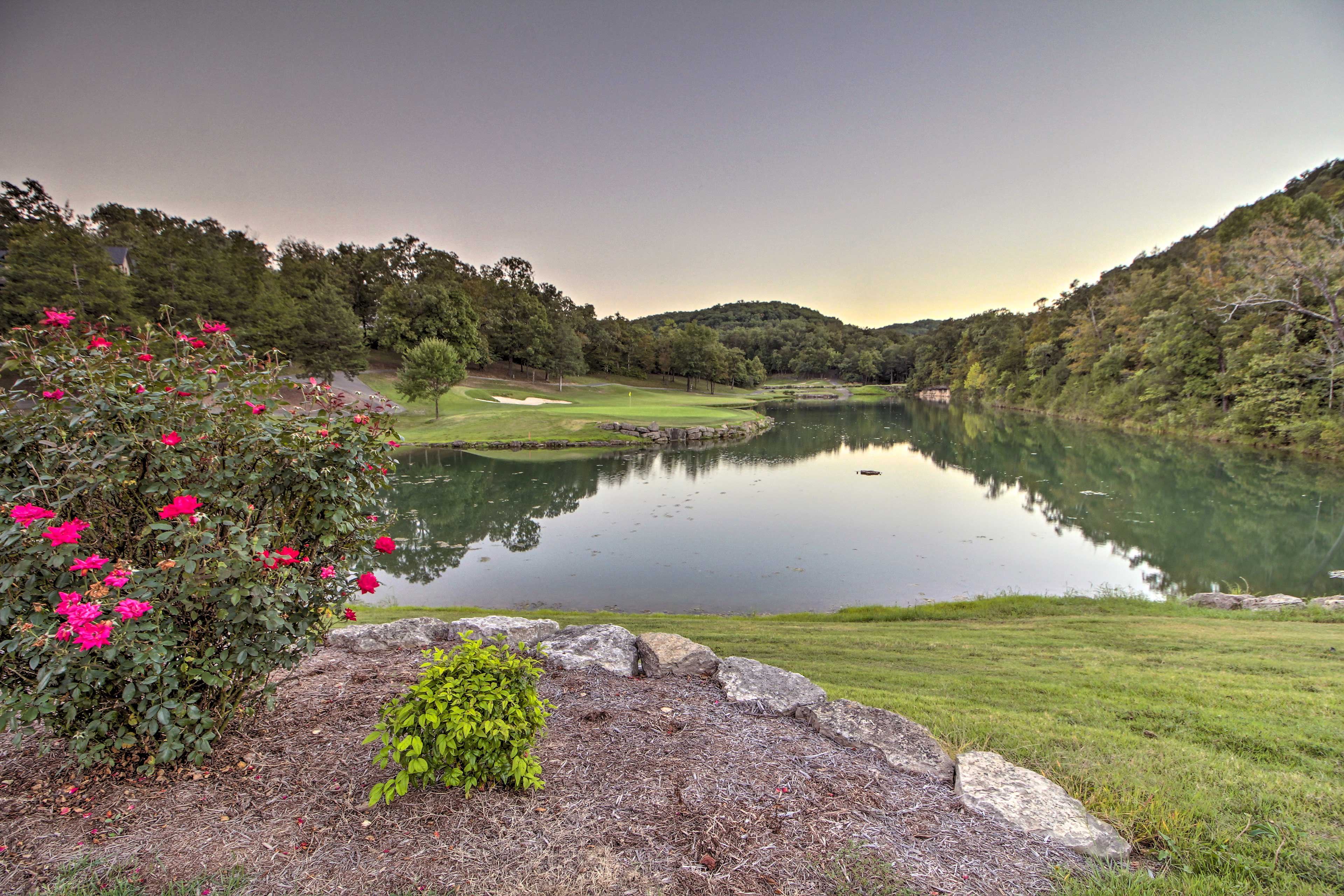 You'll be minutes from Branson attractions during your stay.