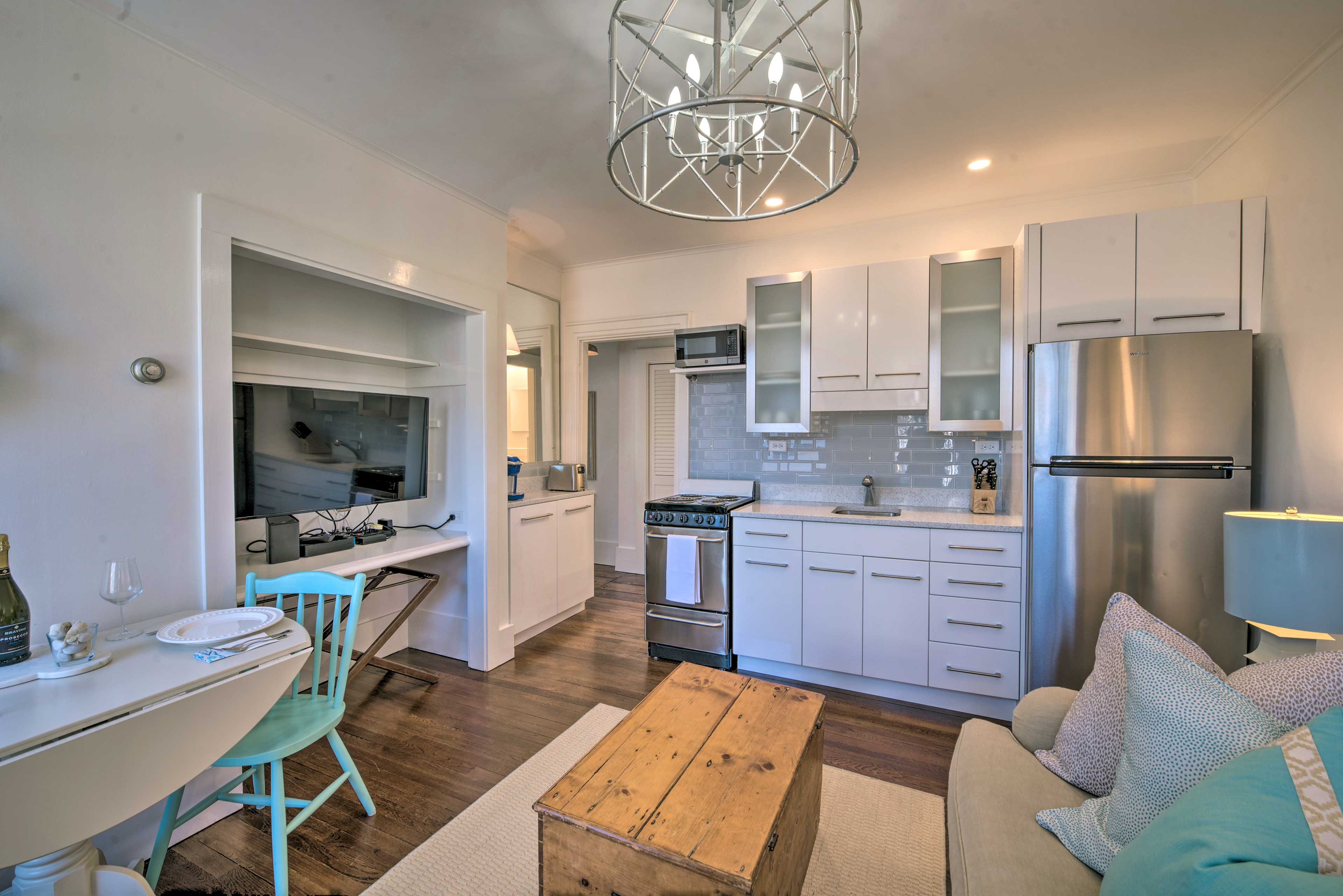 Plan a beach retreat and stay at this Nantucket vacation rental condo.