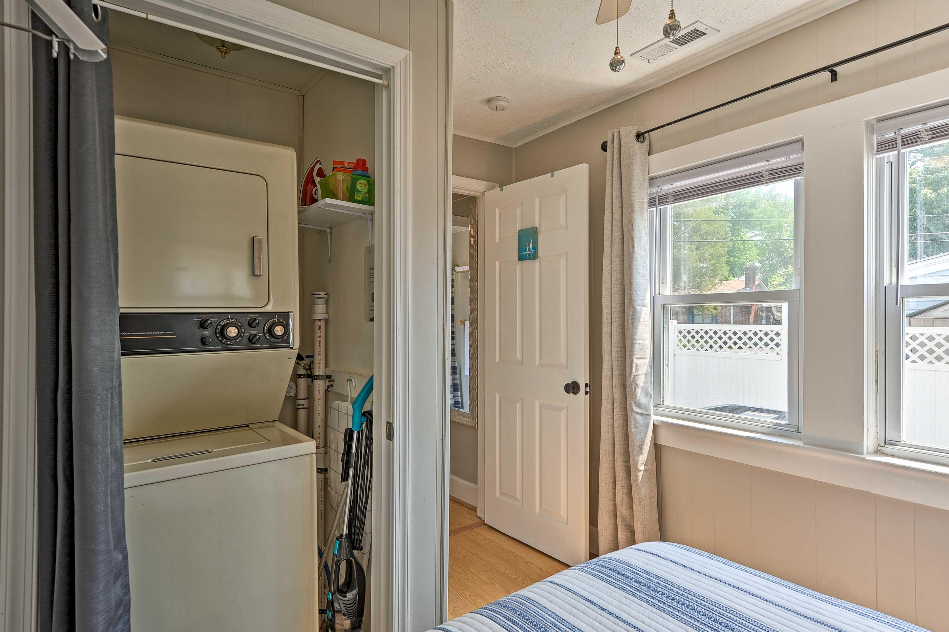 Bedroom 2 | In-Unit Laundry Machines