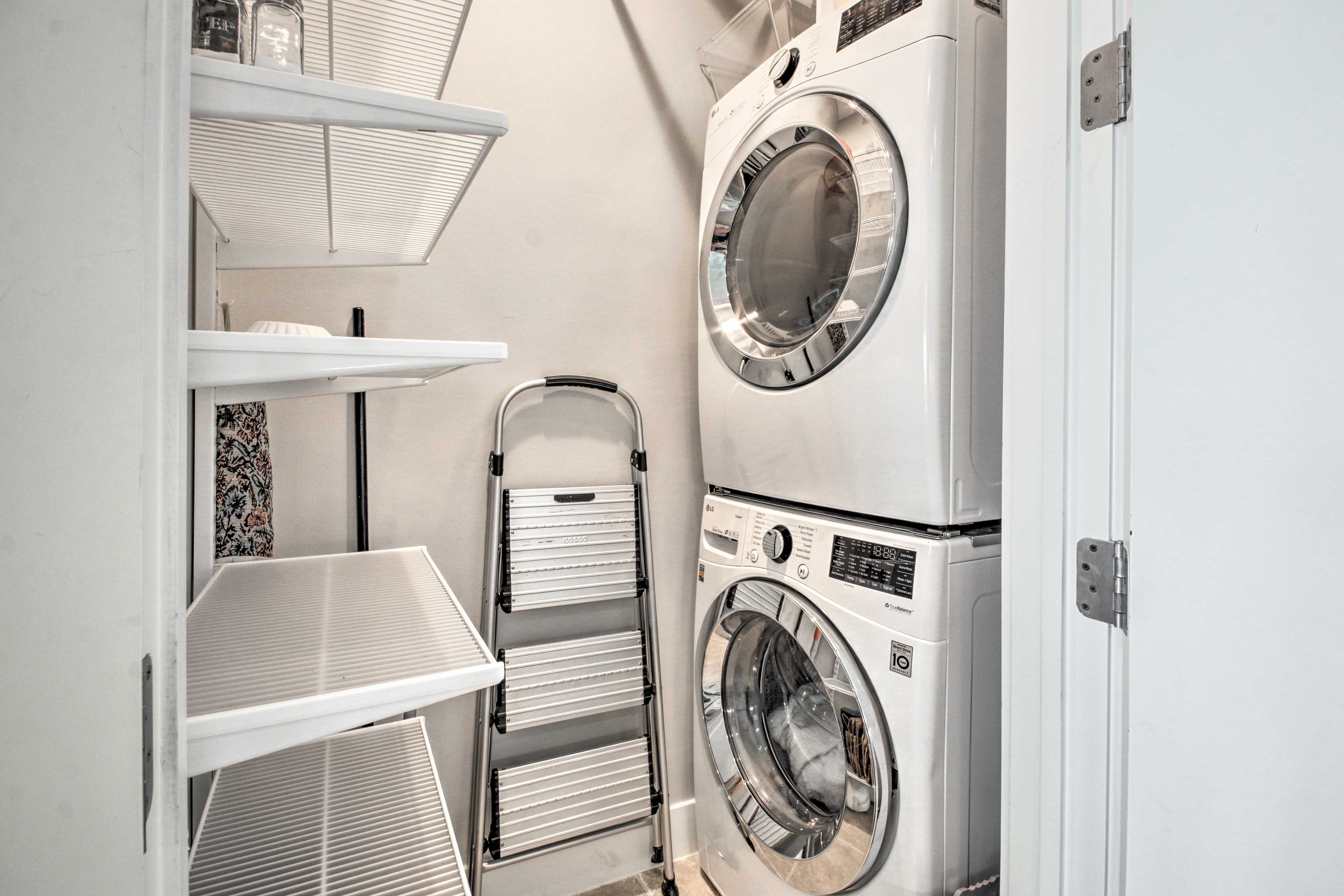 Rinse your clothes with these in-unit laundry machines.