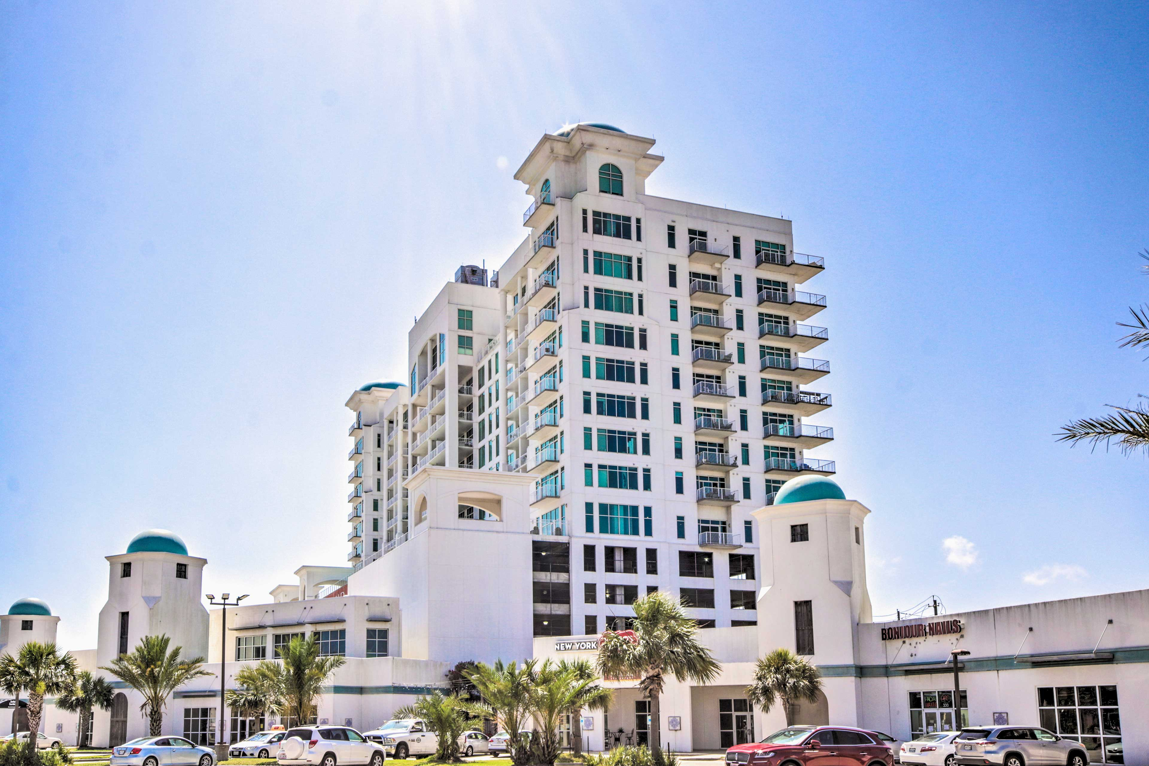 The beautiful Emerald by the Sea Complex has everything you'll need!