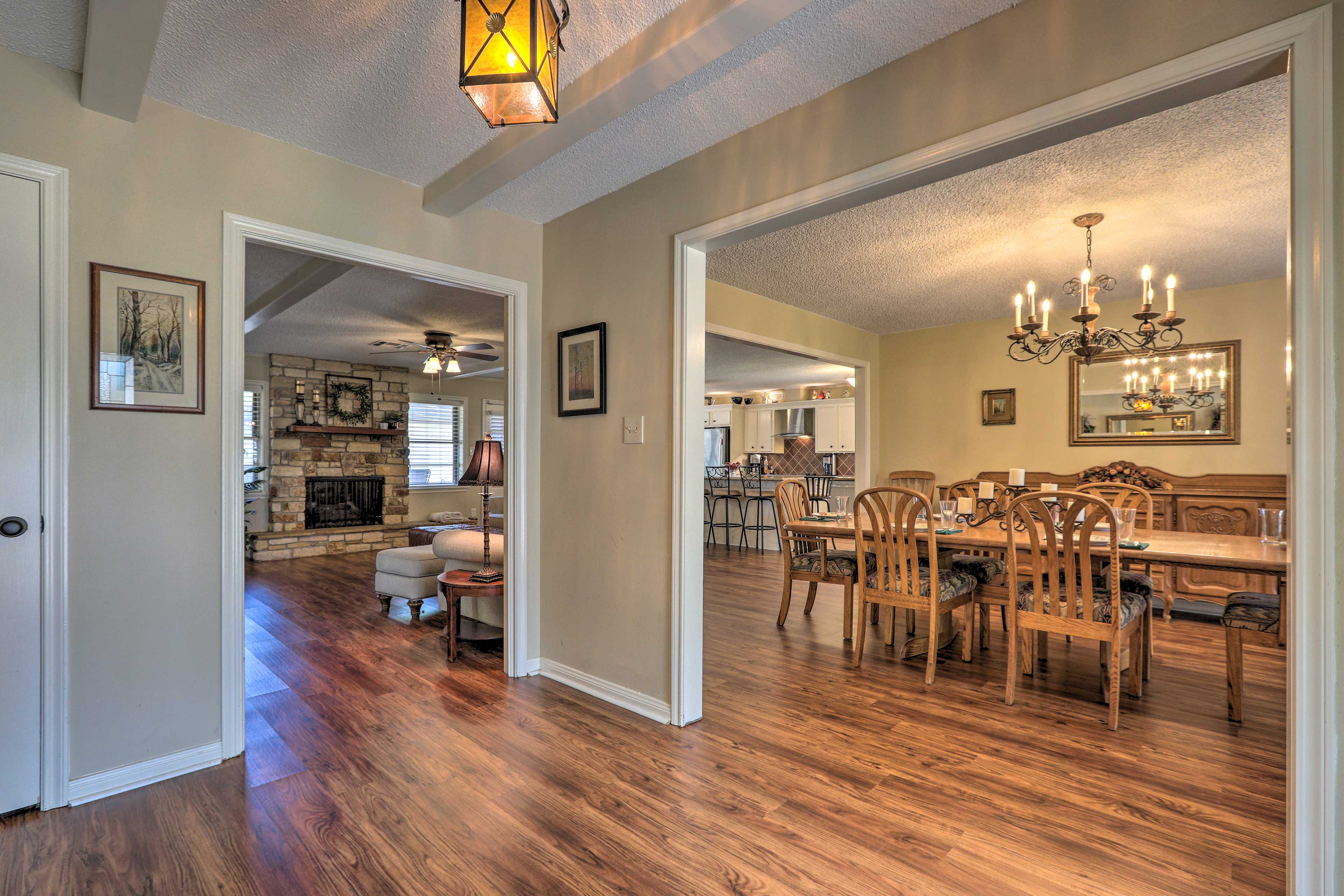 Enjoy 3,200 square feet of living space!