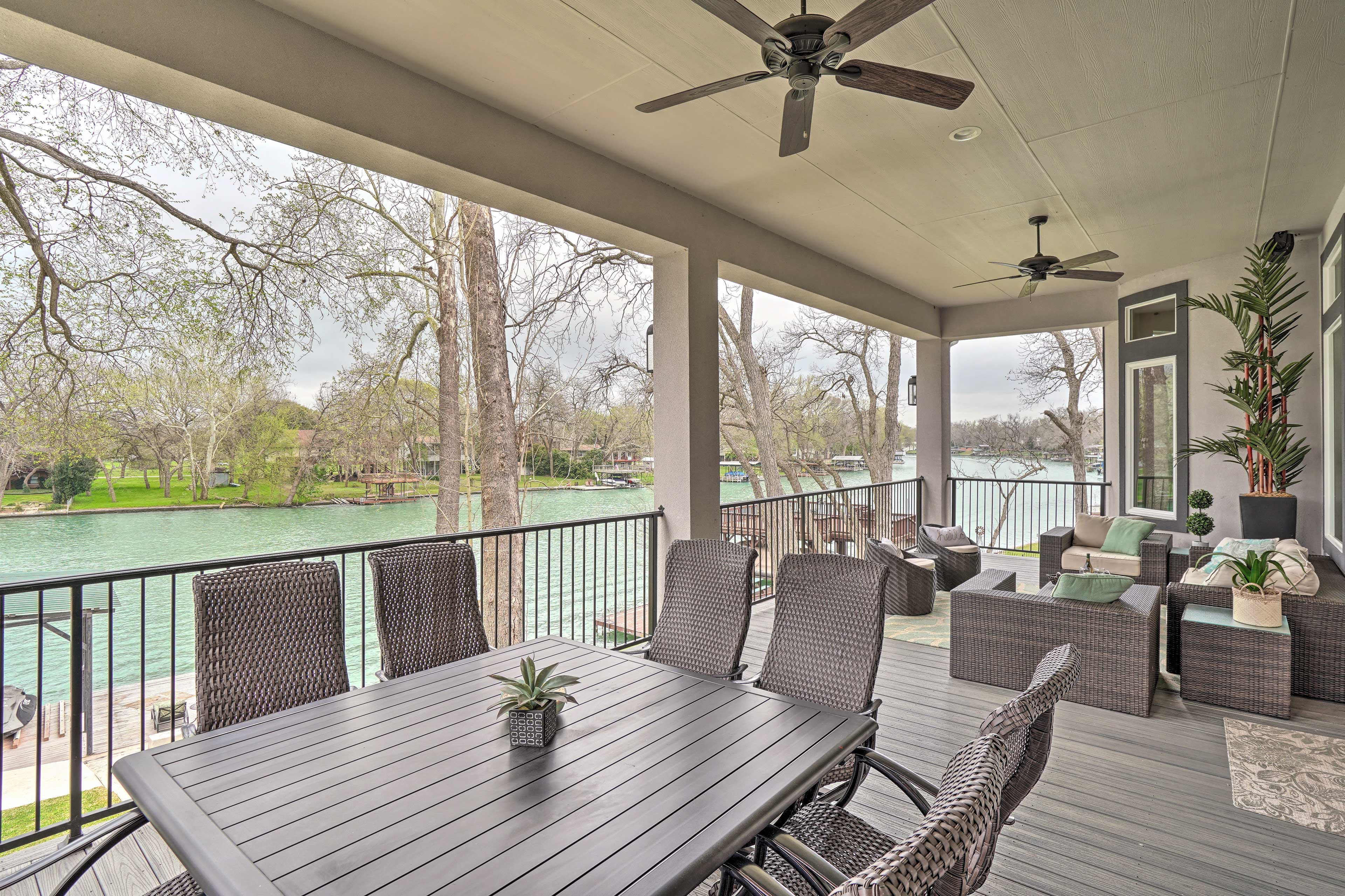 This waterfront property gives you direct access to Lake Placid.