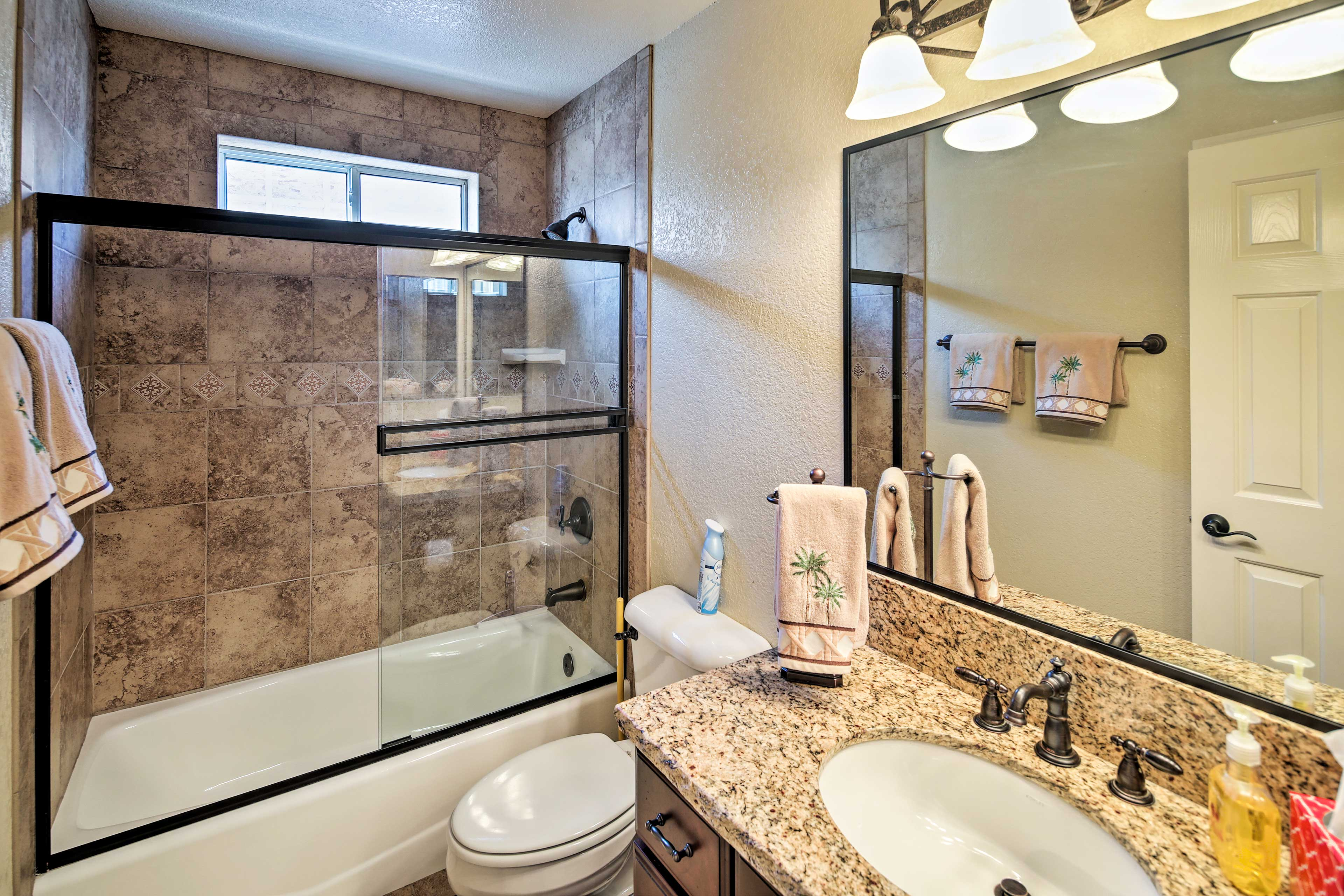 The home includes 2 full bathrooms.