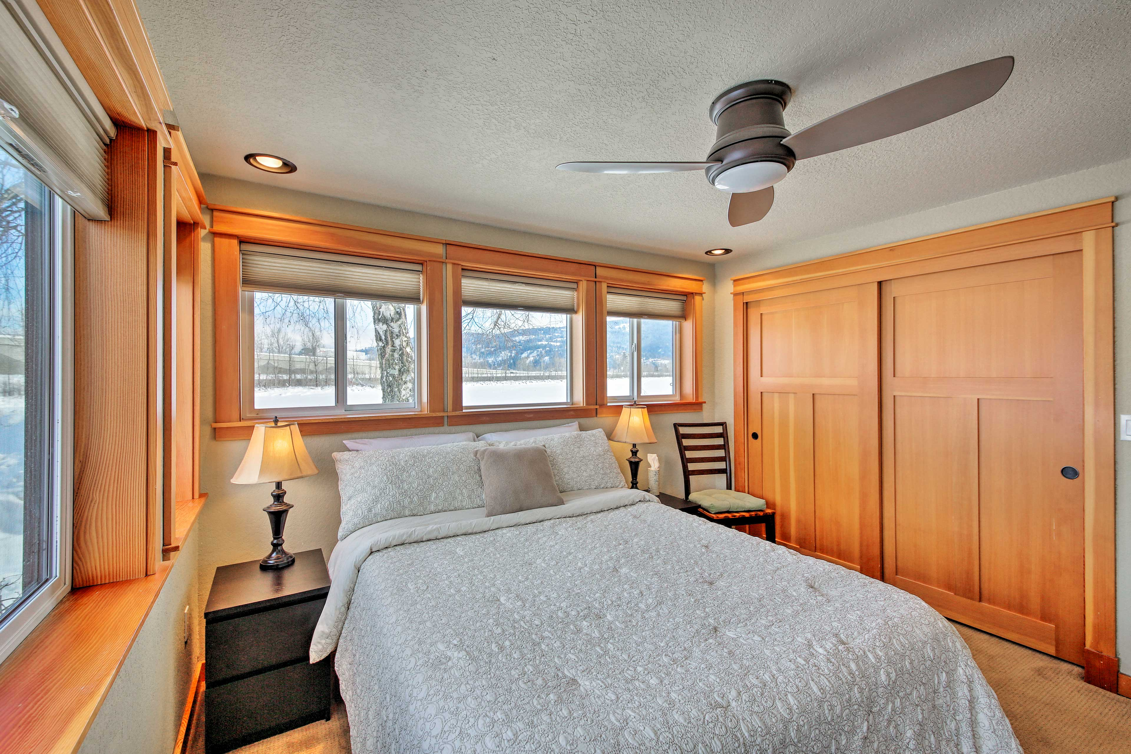 Dream of skiing, boating, fishing or hiking and make it reality when you wake up