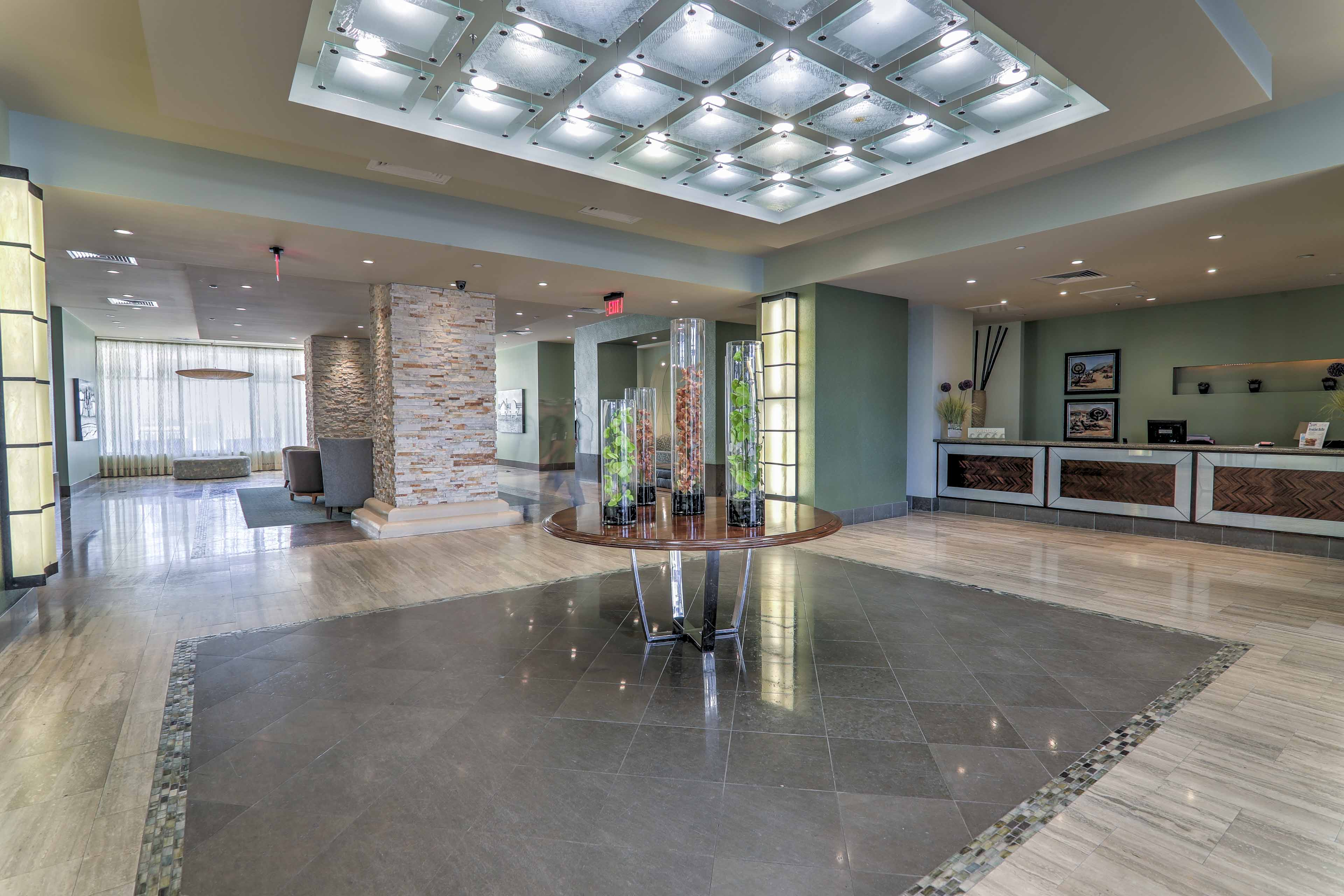 Enjoy the exclusive amenities of The Sapphire Condominiums like the spa!