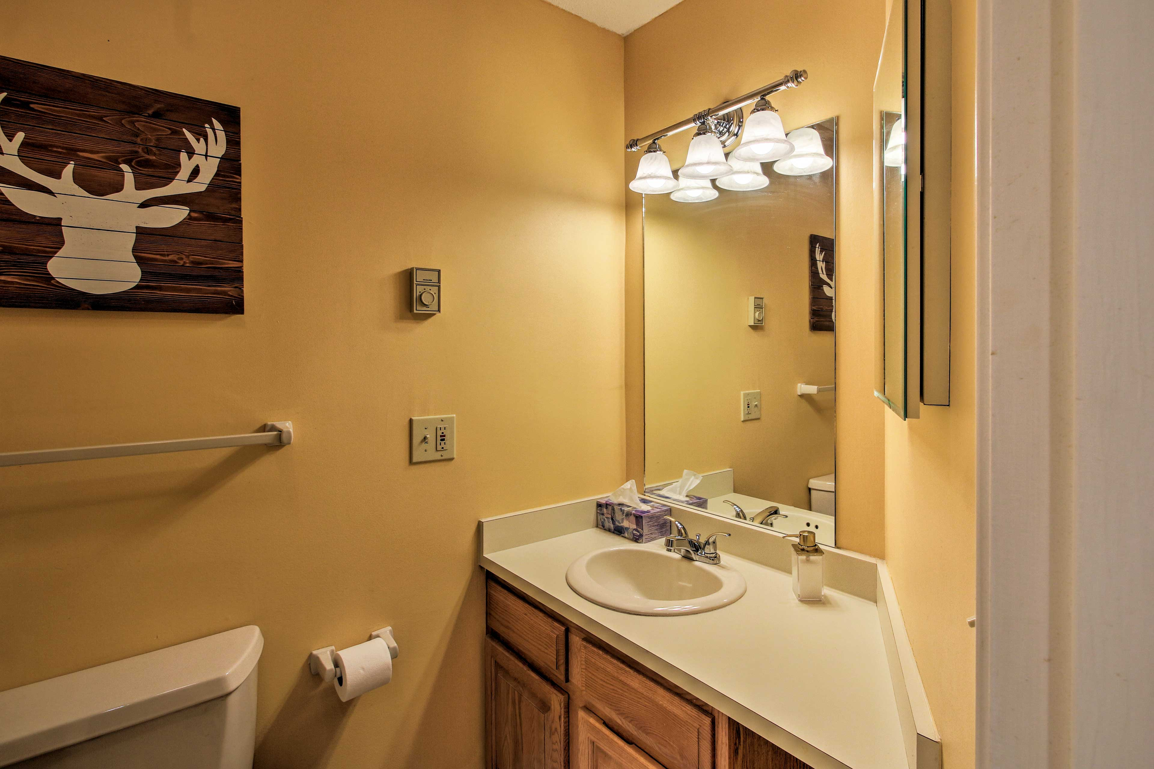 The condo has a total of 2 bathrooms